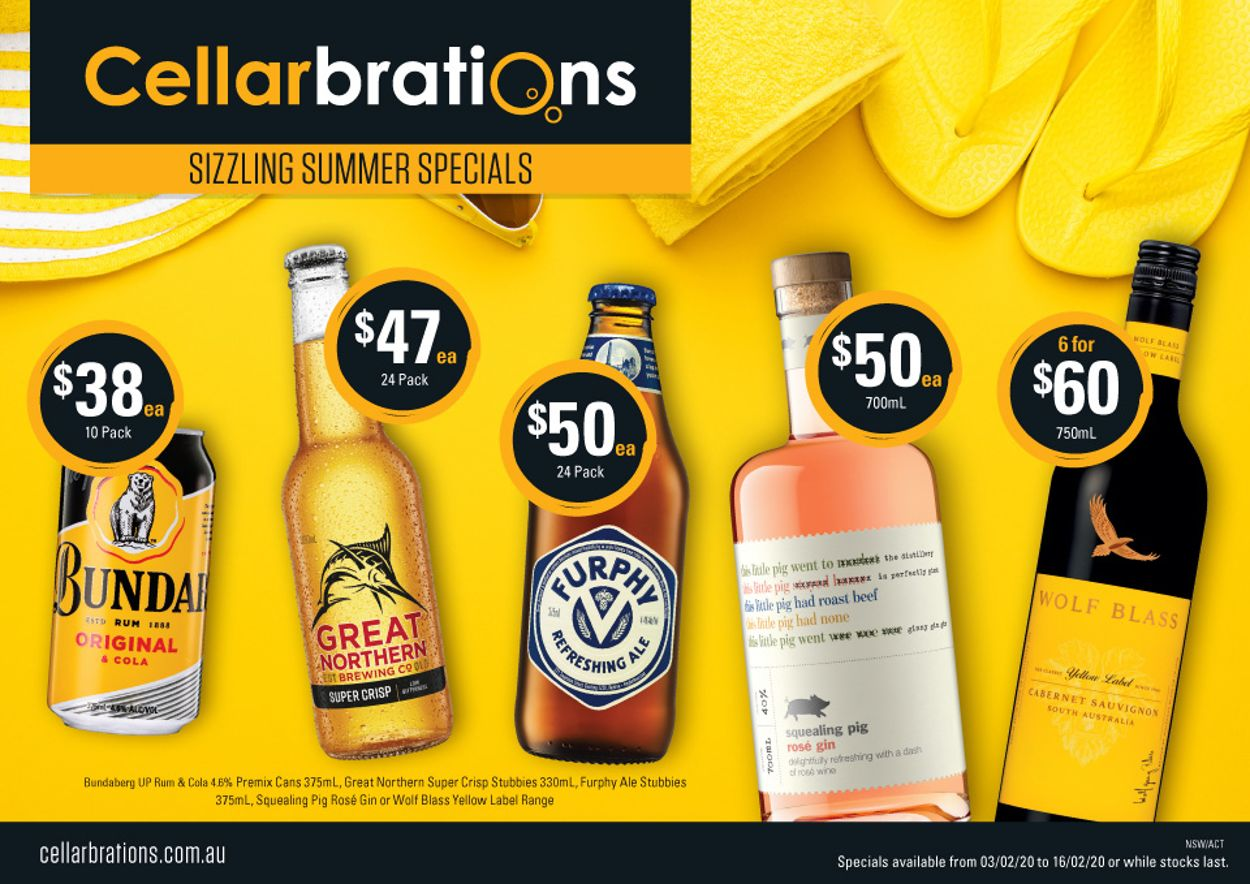 Cellarbrations Catalogue - 03/02-16/02/2020