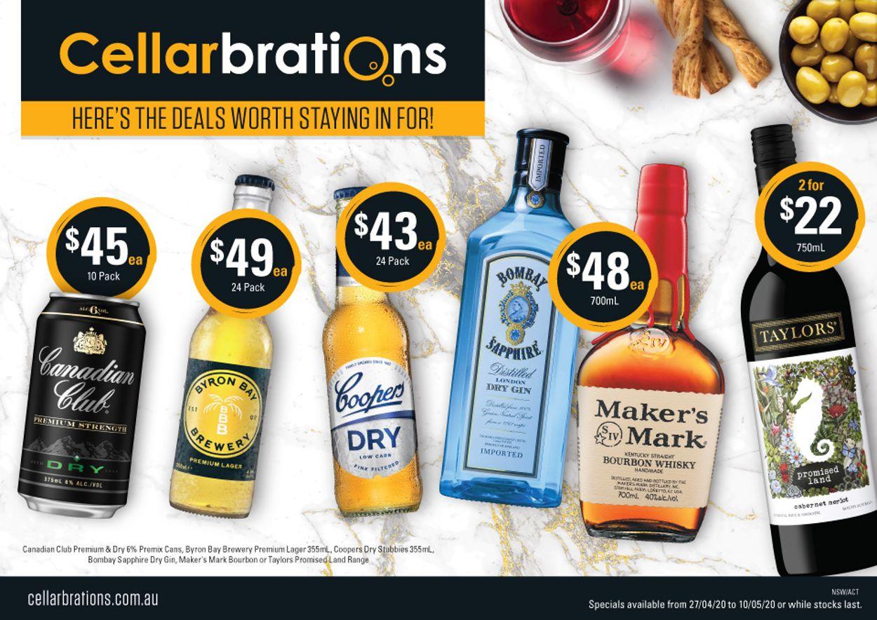 Cellarbrations Catalogue - 27/04-10/05/2020