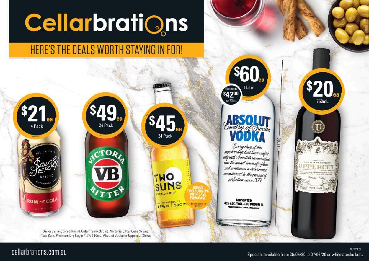 Cellarbrations Catalogue - 25/05-07/06/2020