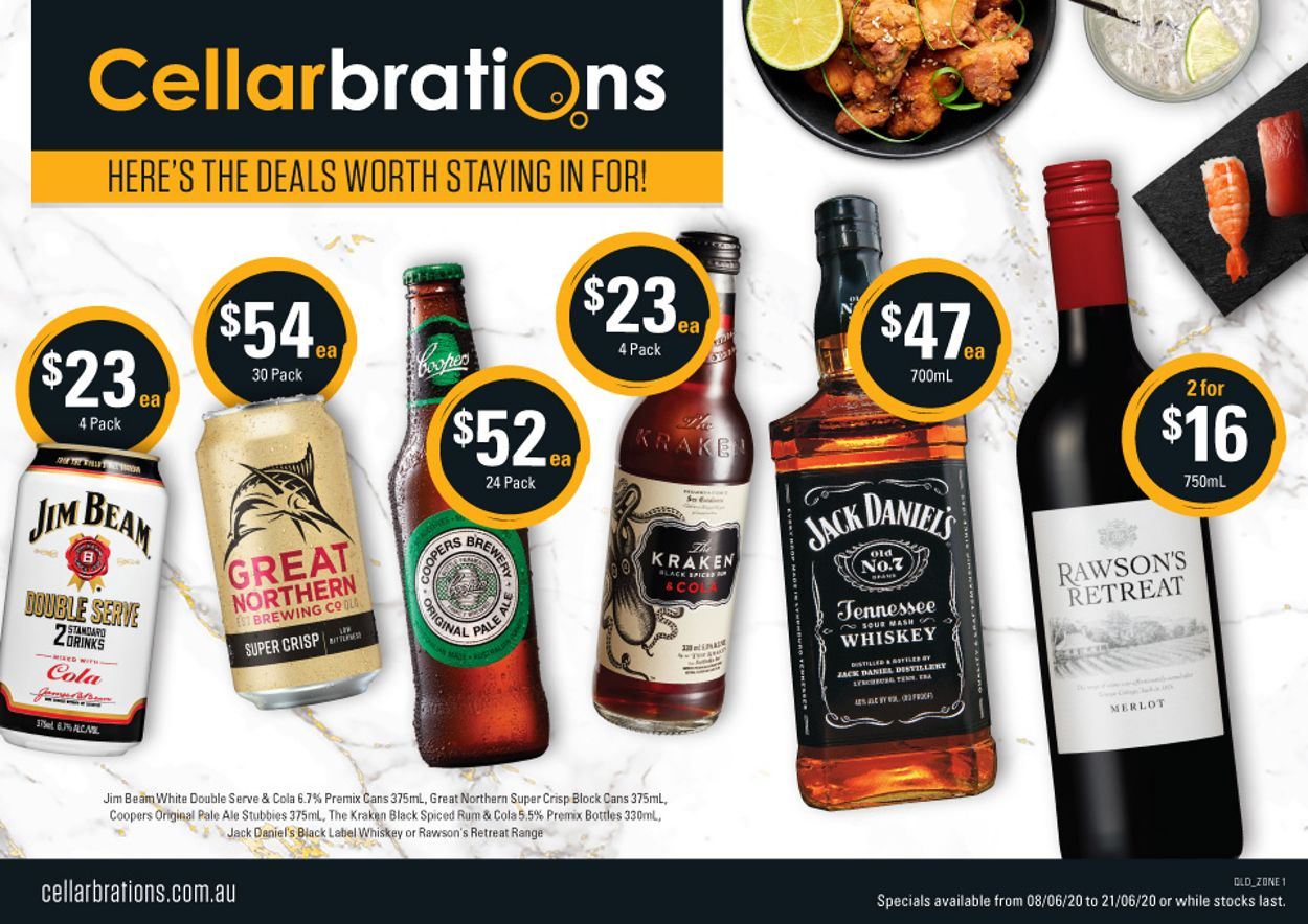 Cellarbrations Catalogue - 08/06-21/06/2020