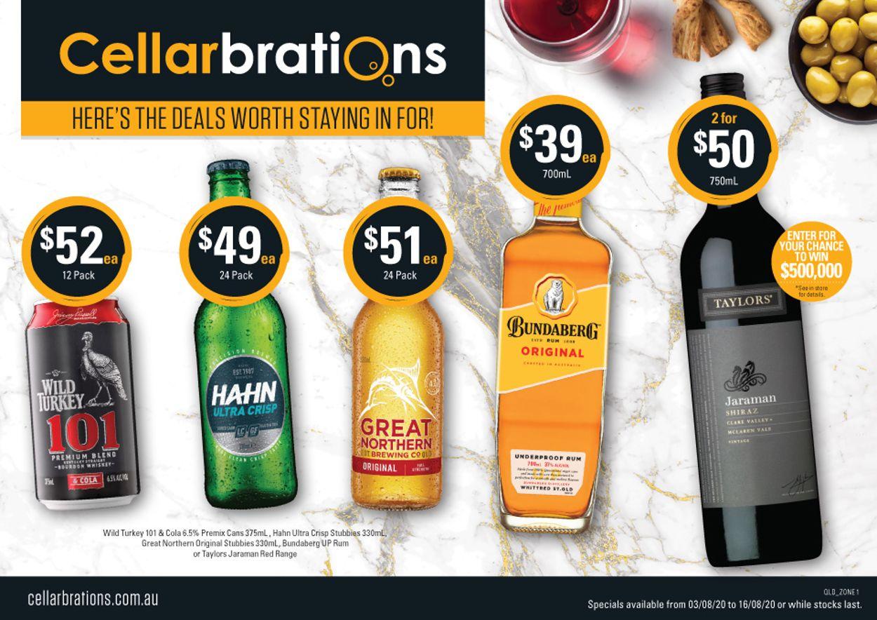 Cellarbrations Catalogue - 03/08-16/08/2020