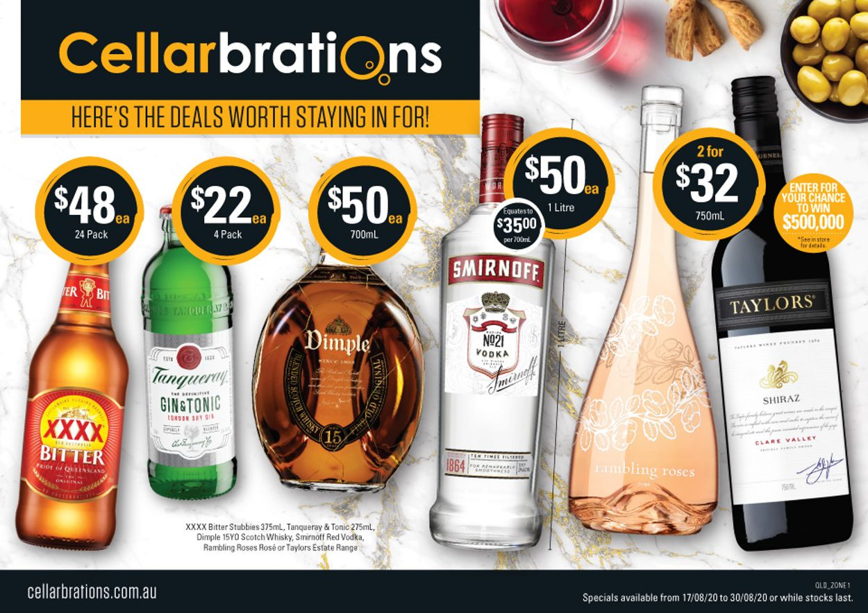 Cellarbrations Catalogue - 17/08-30/08/2020