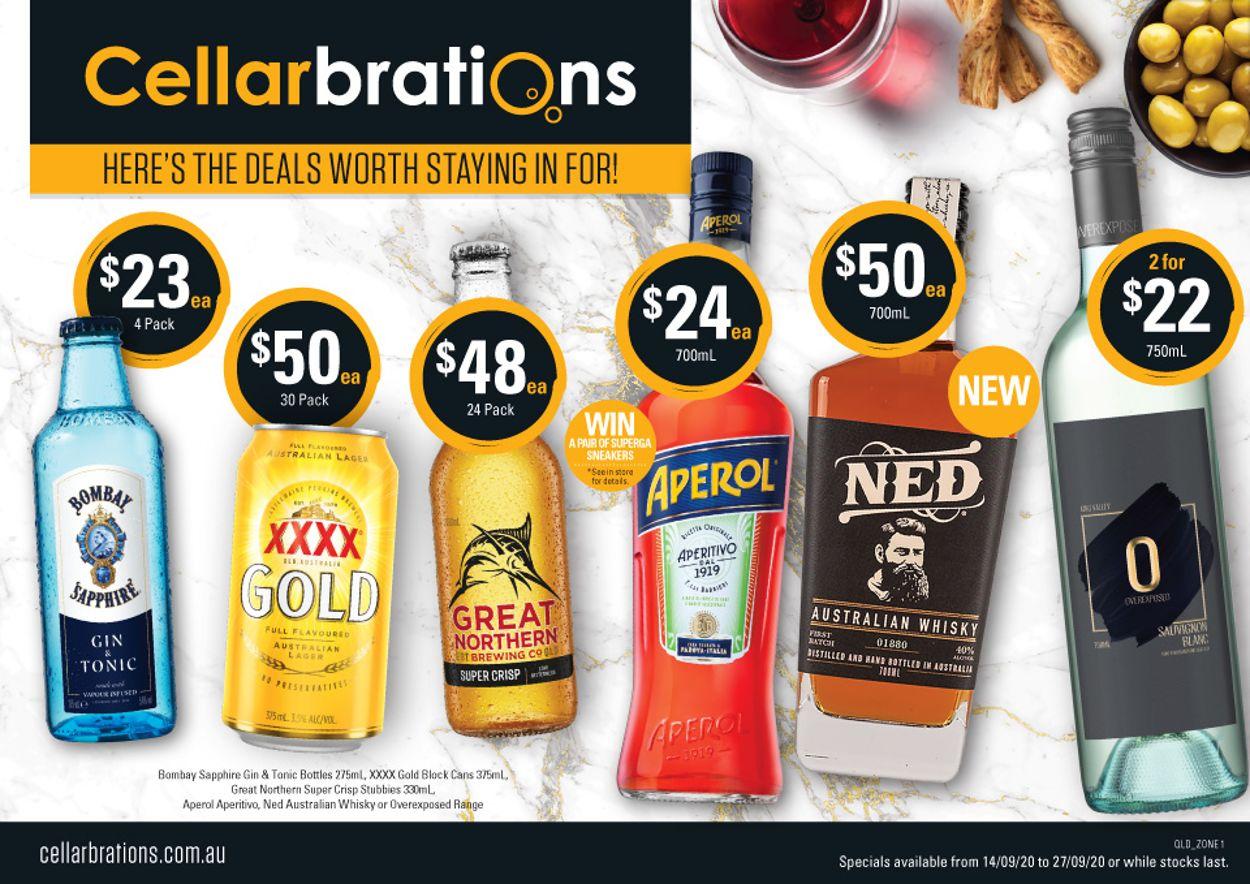 Cellarbrations Catalogue - 14/09-27/09/2020