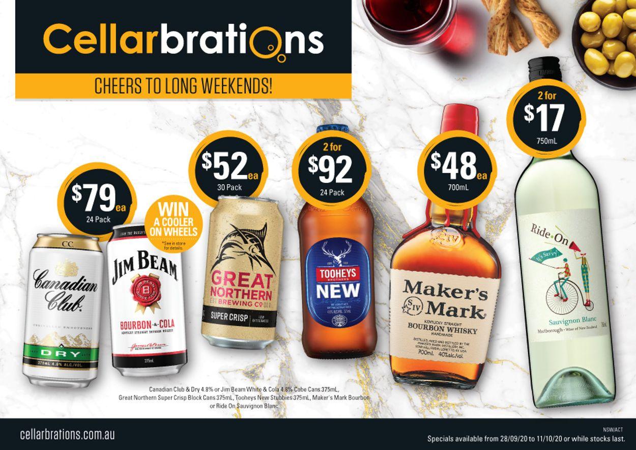 Cellarbrations Catalogue - 28/09-11/10/2020