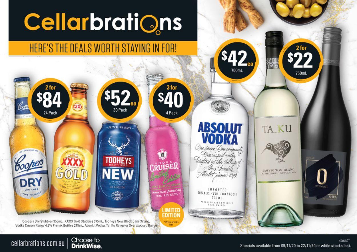 Cellarbrations Catalogue - 09/11-22/11/2020