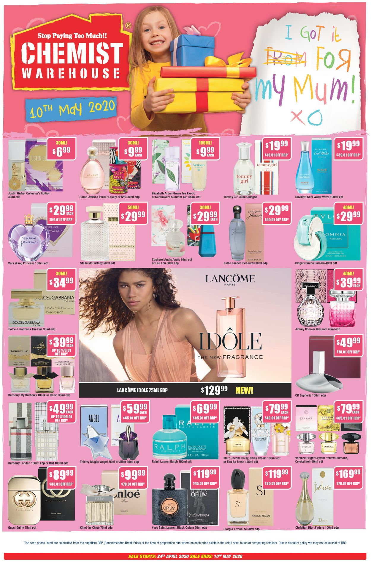 Chemist Warehouse Catalogue - 24/04-10/05/2020