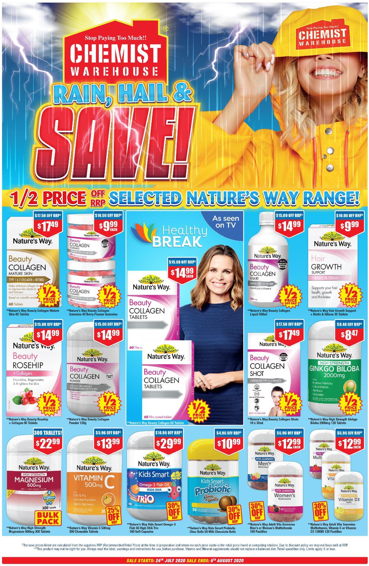 Chemist Warehouse Catalogue - 24/07-06/08/2020