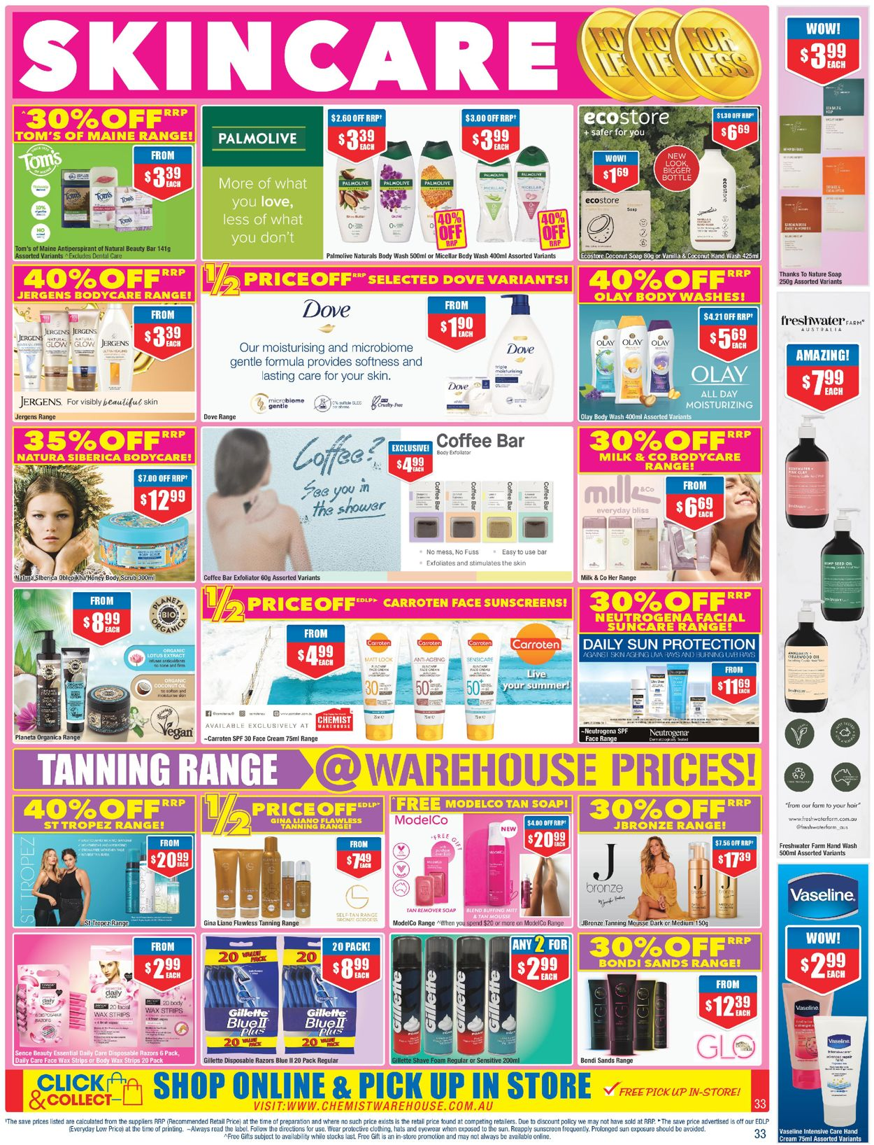 Chemist Warehouse Catalogue - 24/07-06/08/2020 (Page 33)