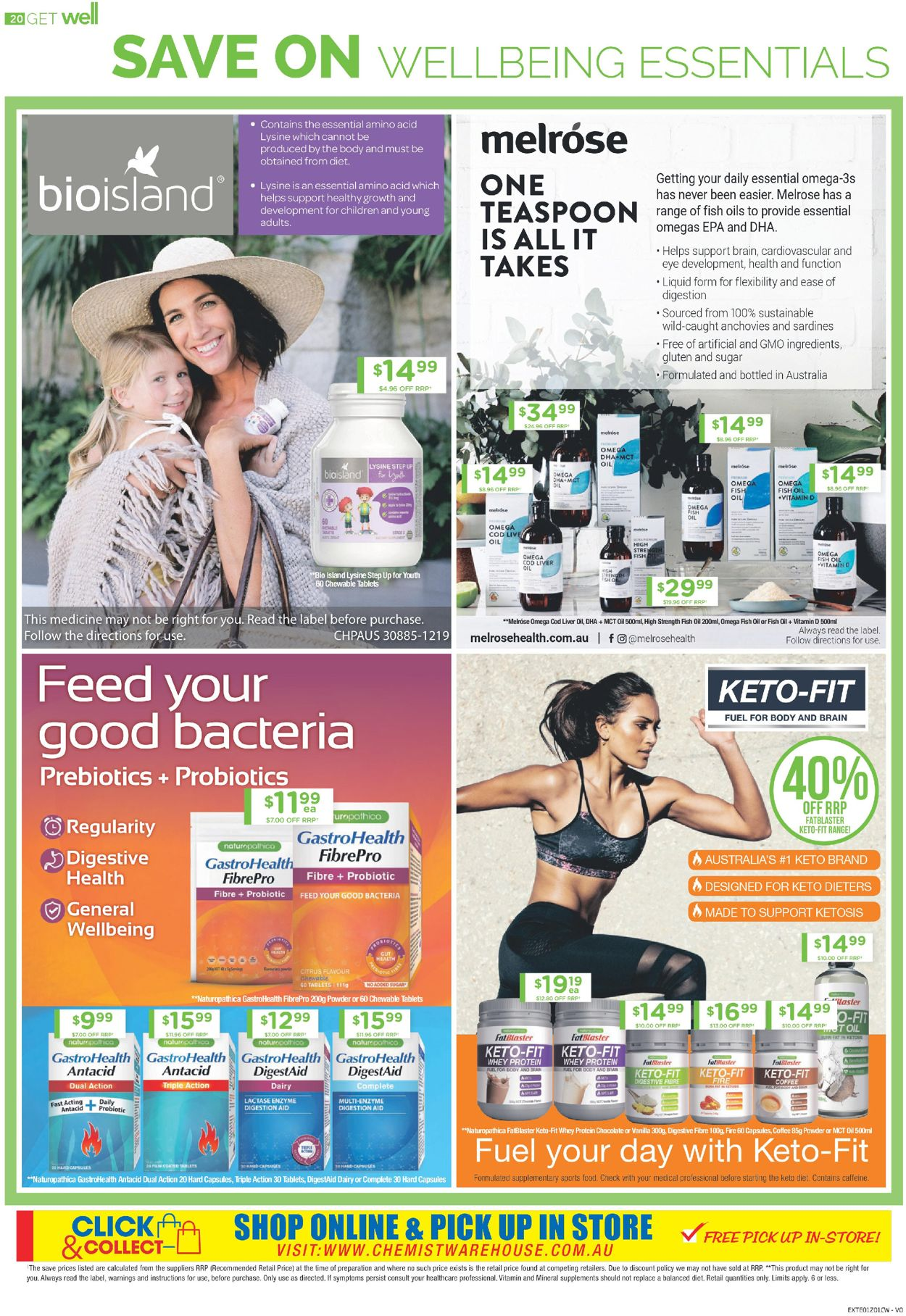 Chemist Warehouse Catalogue - 07/08-20/08/2020 (Page 20)