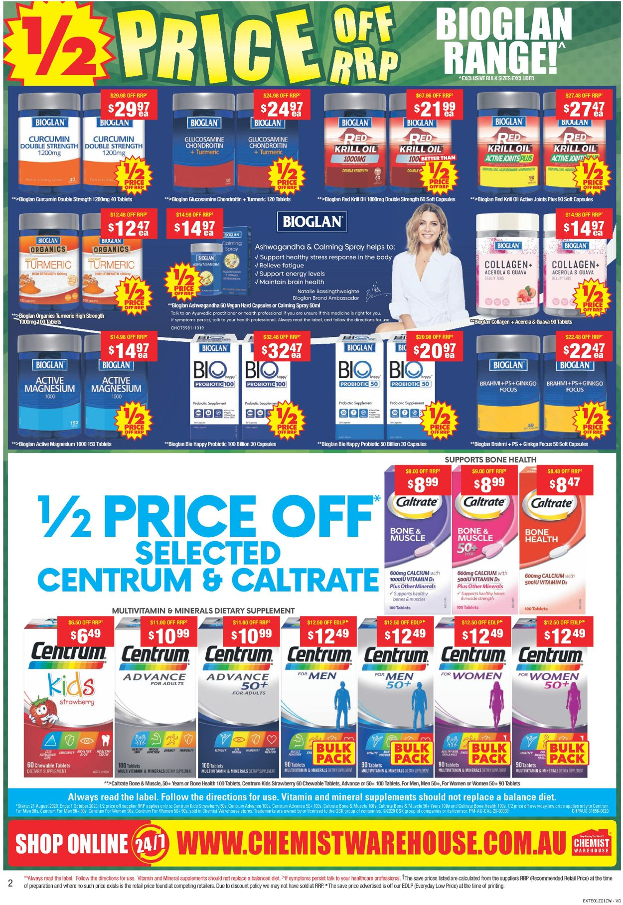Chemist Warehouse Catalogue - 07/09-27/09/2020 (Page 2)