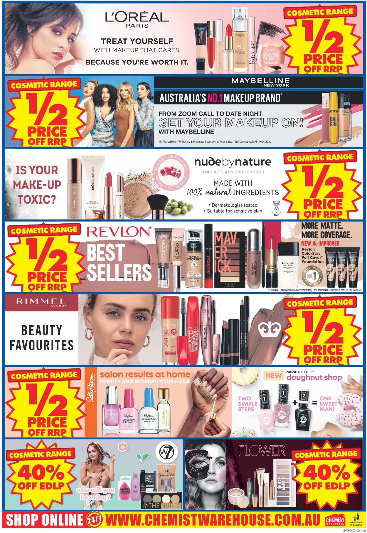 Chemist Warehouse Catalogue - 07/09-27/09/2020 (Page 40)