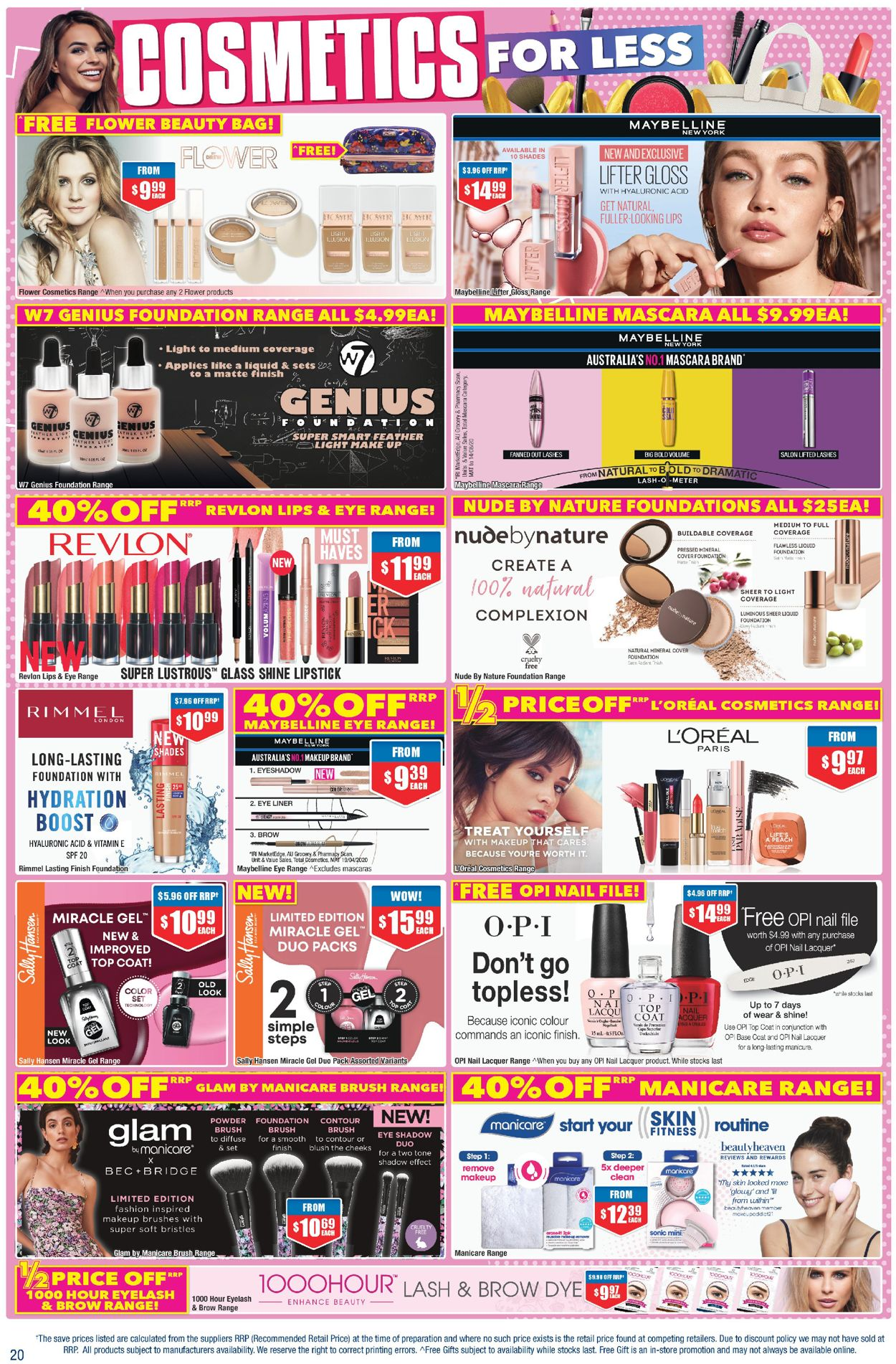 Chemist Warehouse Catalogue - 01/10-15/10/2020 (Page 20)
