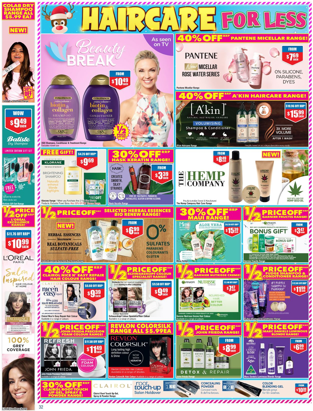 Chemist Warehouse Catalogue - 23/10-12/11/2020 (Page 32)