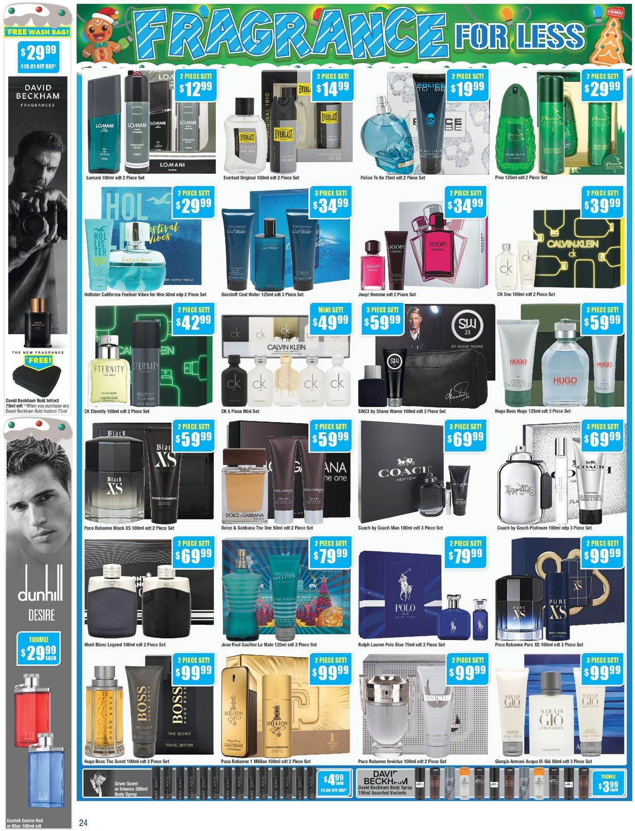Chemist Warehouse - Christmas 2020 Catalogue - 30/11-13/12/2020 (Page 24)