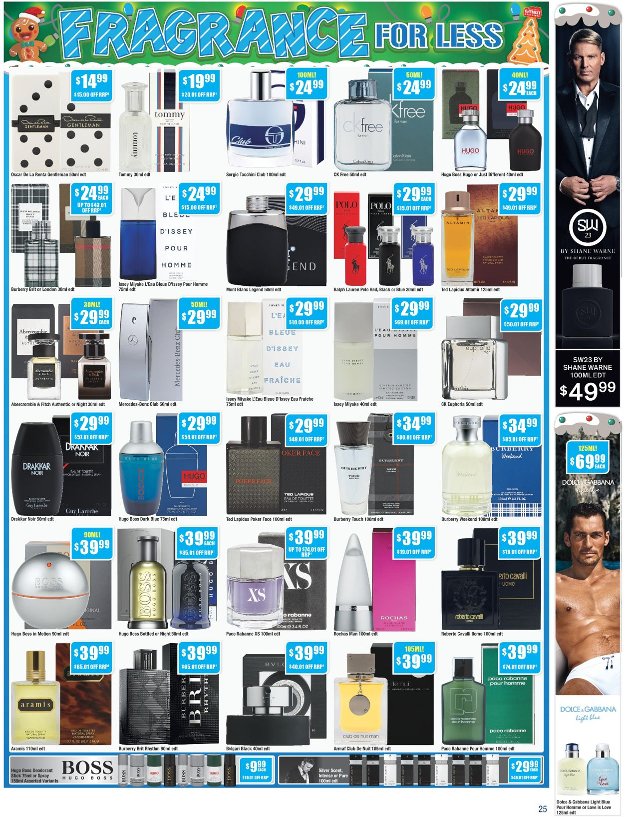 Chemist Warehouse - Christmas 2020 Catalogue - 30/11-13/12/2020 (Page 25)