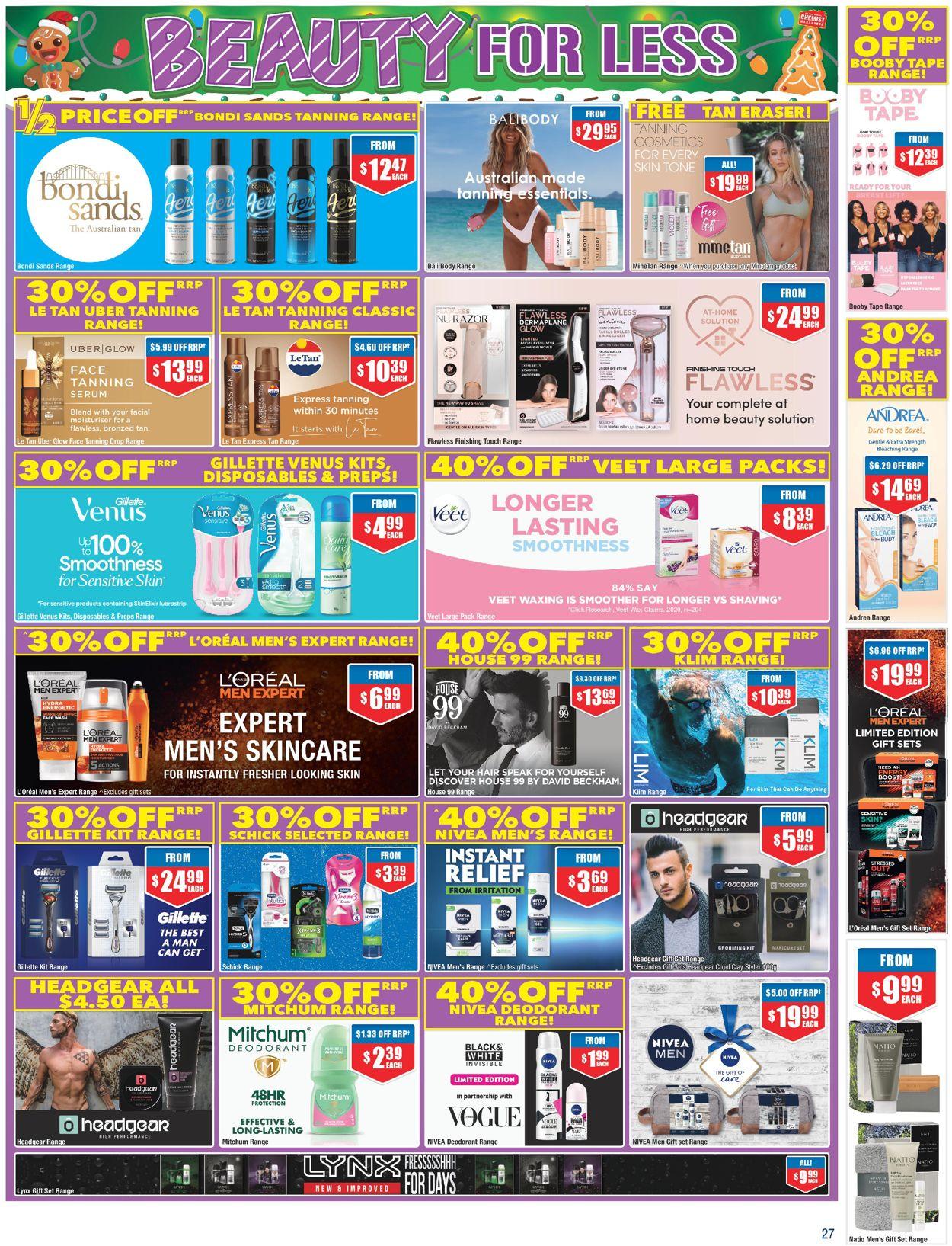 Chemist Warehouse - Christmas 2020 Catalogue - 30/11-13/12/2020 (Page 27)
