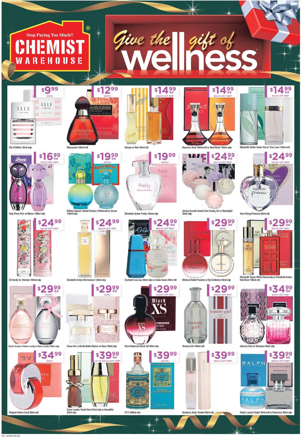 Chemist Warehouse - Christmas 2020 Catalogue - 14/12-24/12/2020