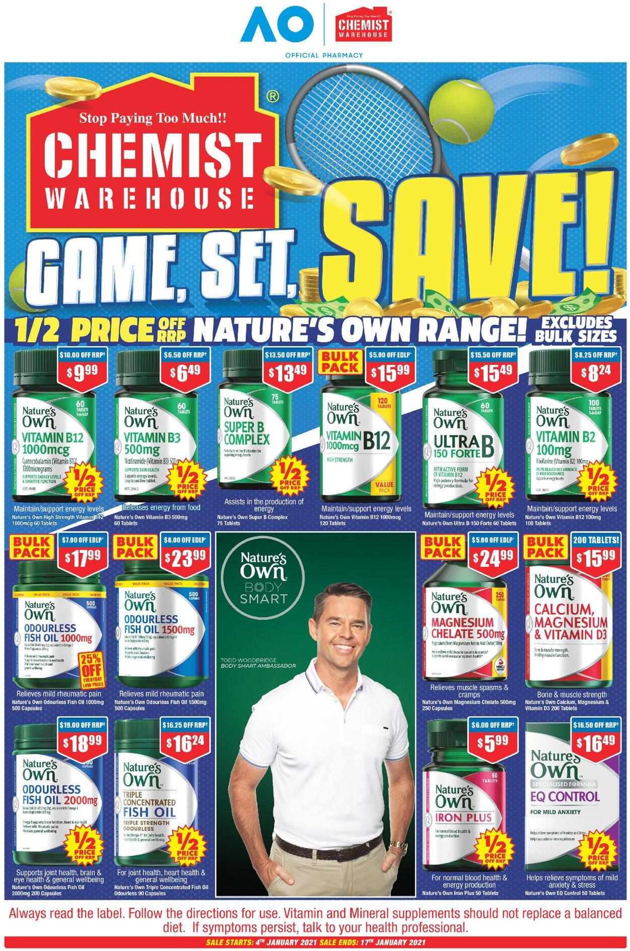 Chemist Warehouse Catalogue - 07/01-17/01/2021