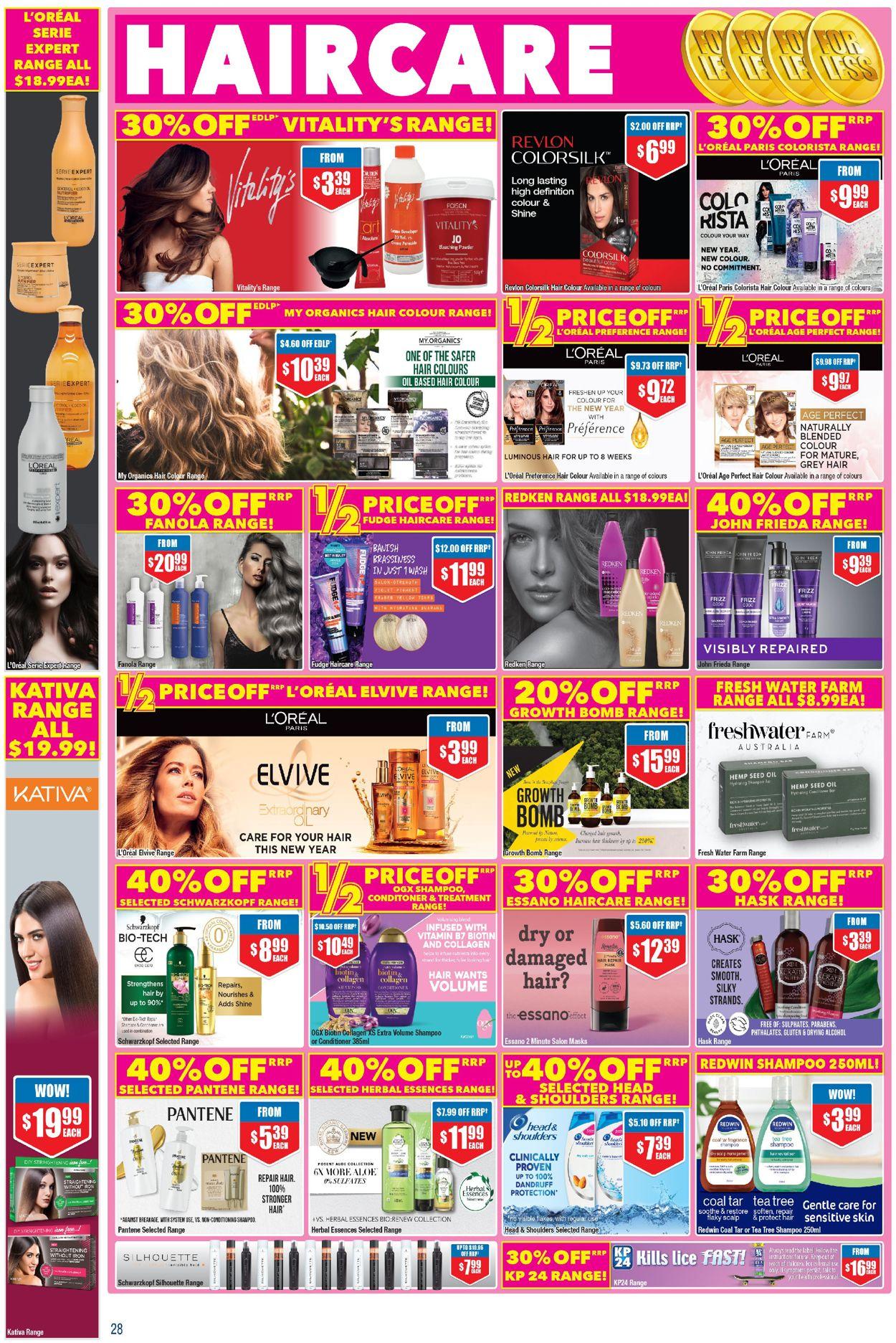 Chemist Warehouse Catalogue - 07/01-17/01/2021 (Page 28)