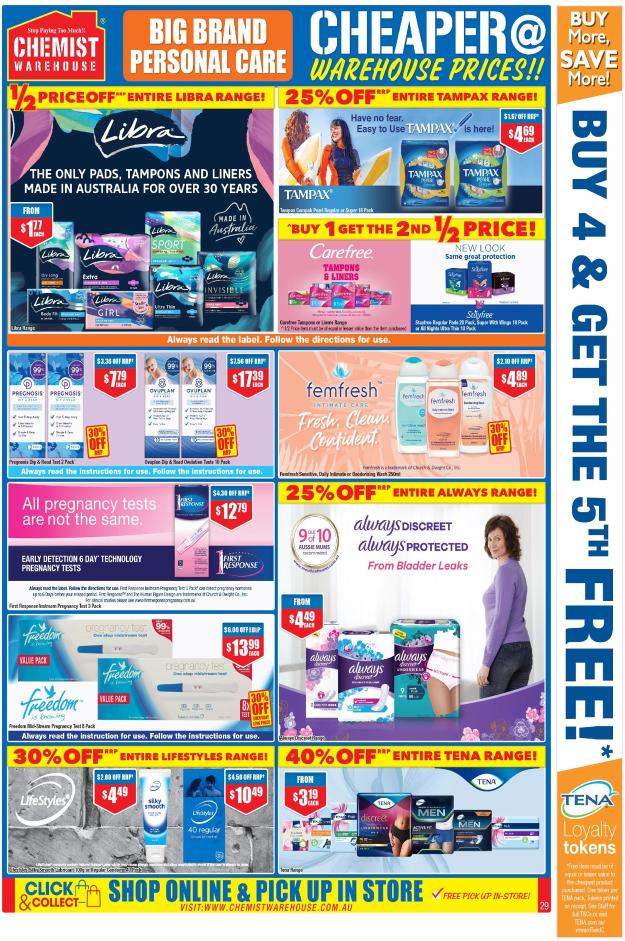 Chemist Warehouse Catalogue - 07/01-17/01/2021 (Page 29)