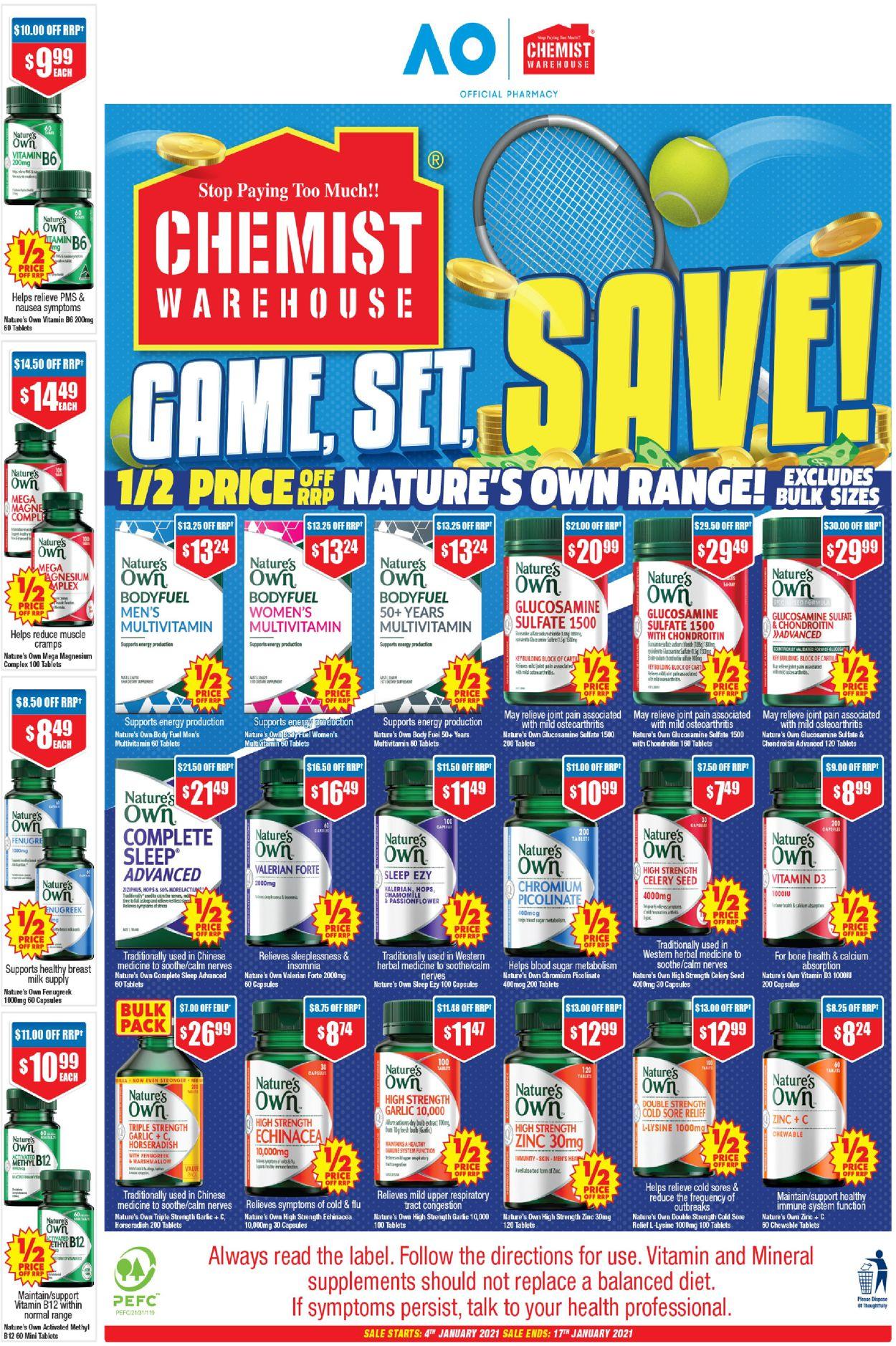 Chemist Warehouse Catalogue - 07/01-17/01/2021 (Page 40)