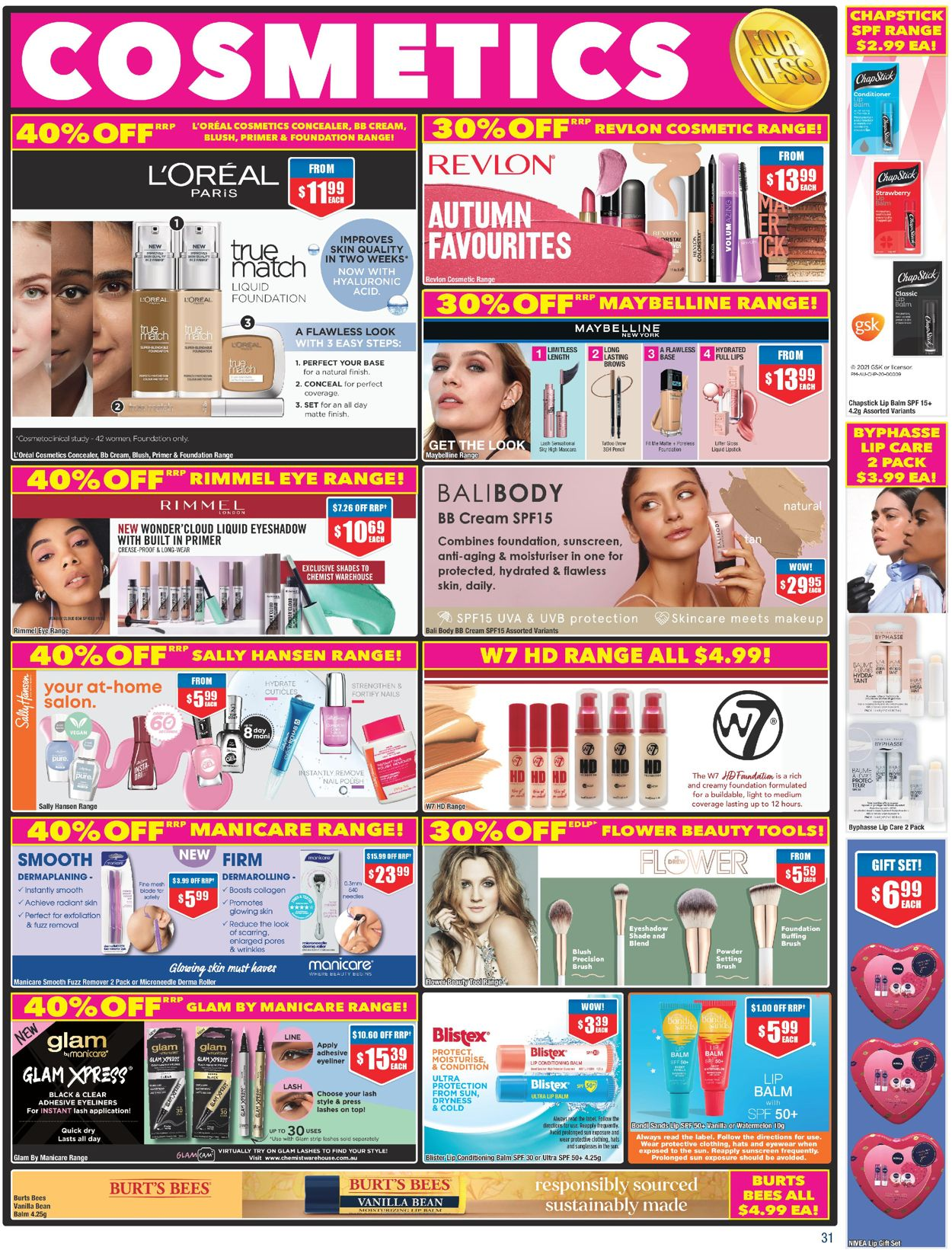 Chemist Warehouse Catalogue - 25/02-10/03/2021 (Page 31)