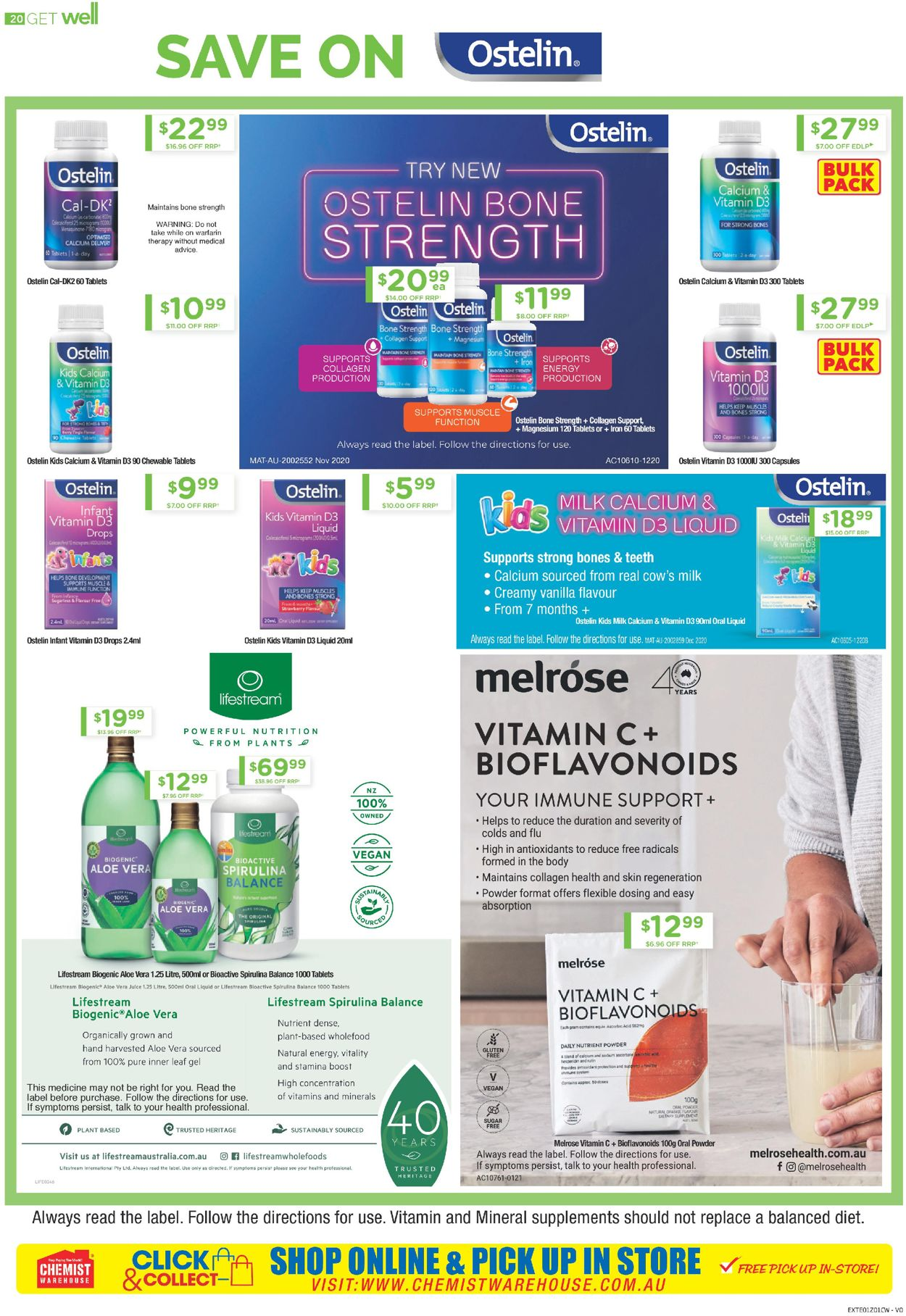 Chemist Warehouse Catalogue - 08/04-21/04/2021 (Page 20)