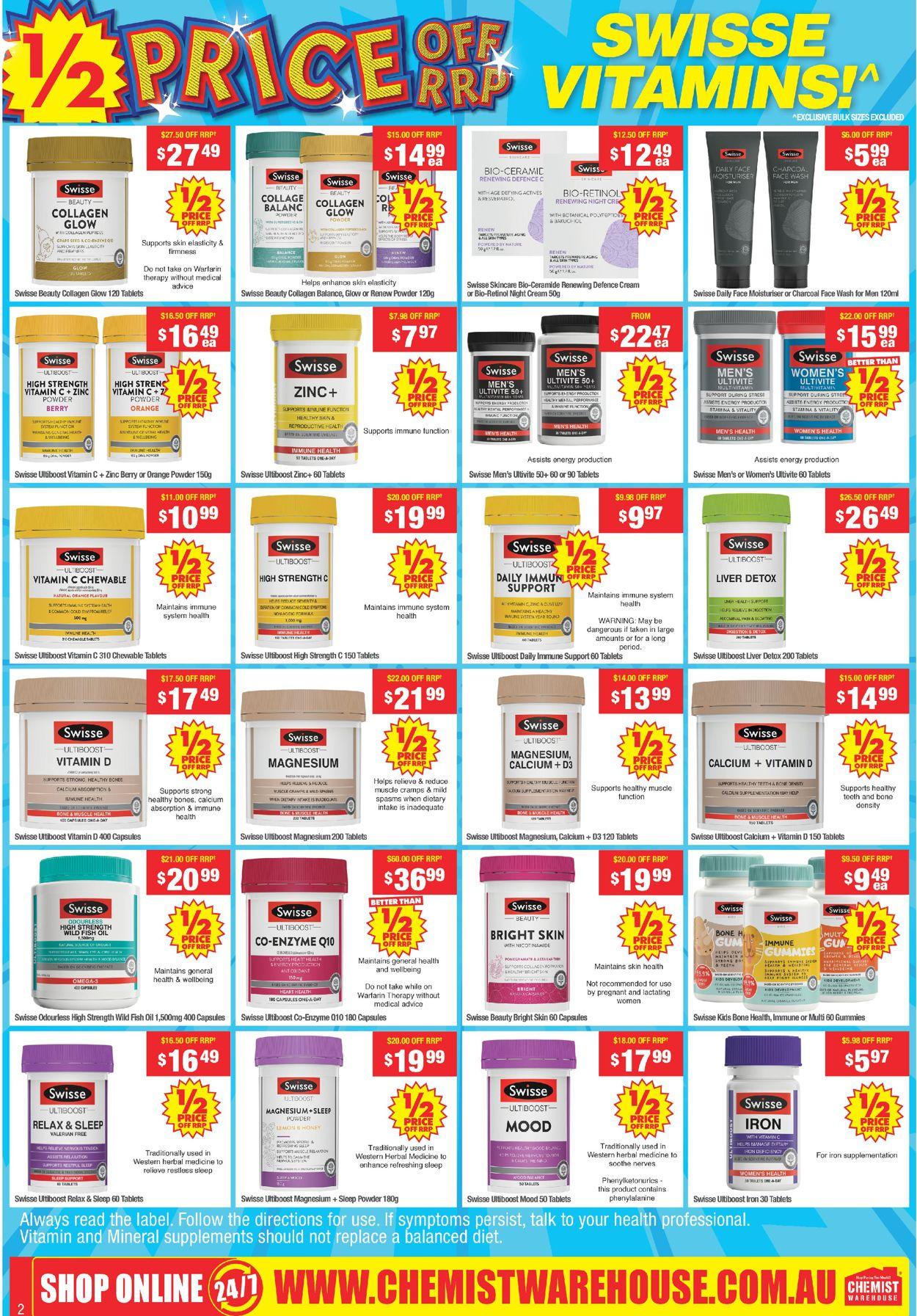 Chemist Warehouse Catalogue - 10/05-23/05/2021 (Page 2)