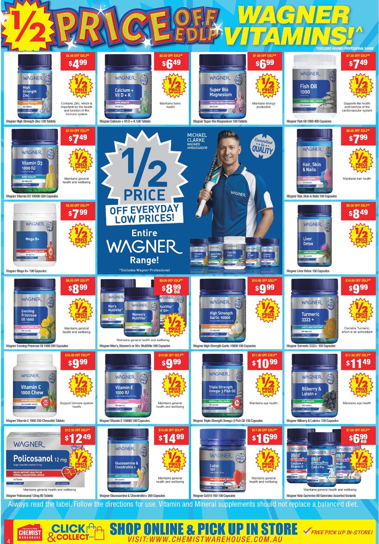 Chemist Warehouse Catalogue - 10/05-23/05/2021 (Page 4)