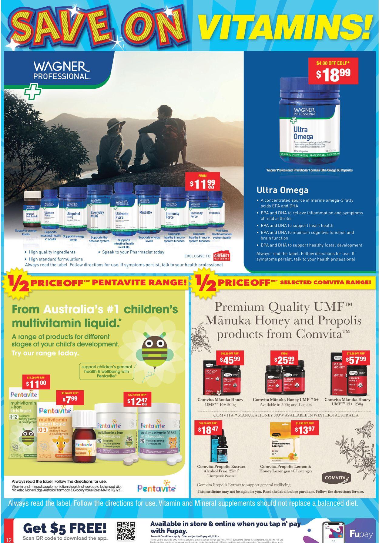 Chemist Warehouse Catalogue - 10/05-23/05/2021 (Page 12)
