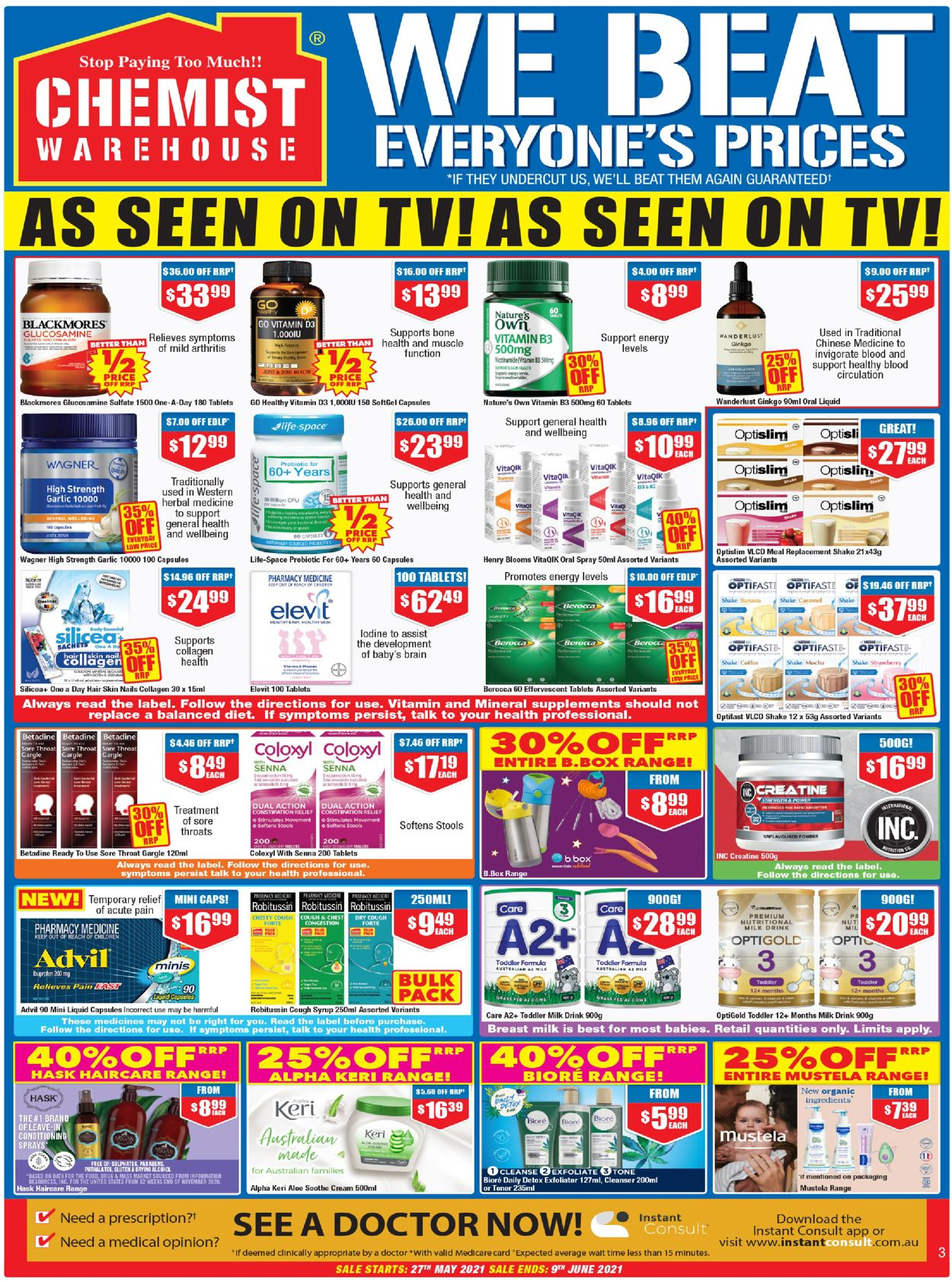 Chemist Warehouse Catalogue - 27/05-09/06/2021 (Page 3)