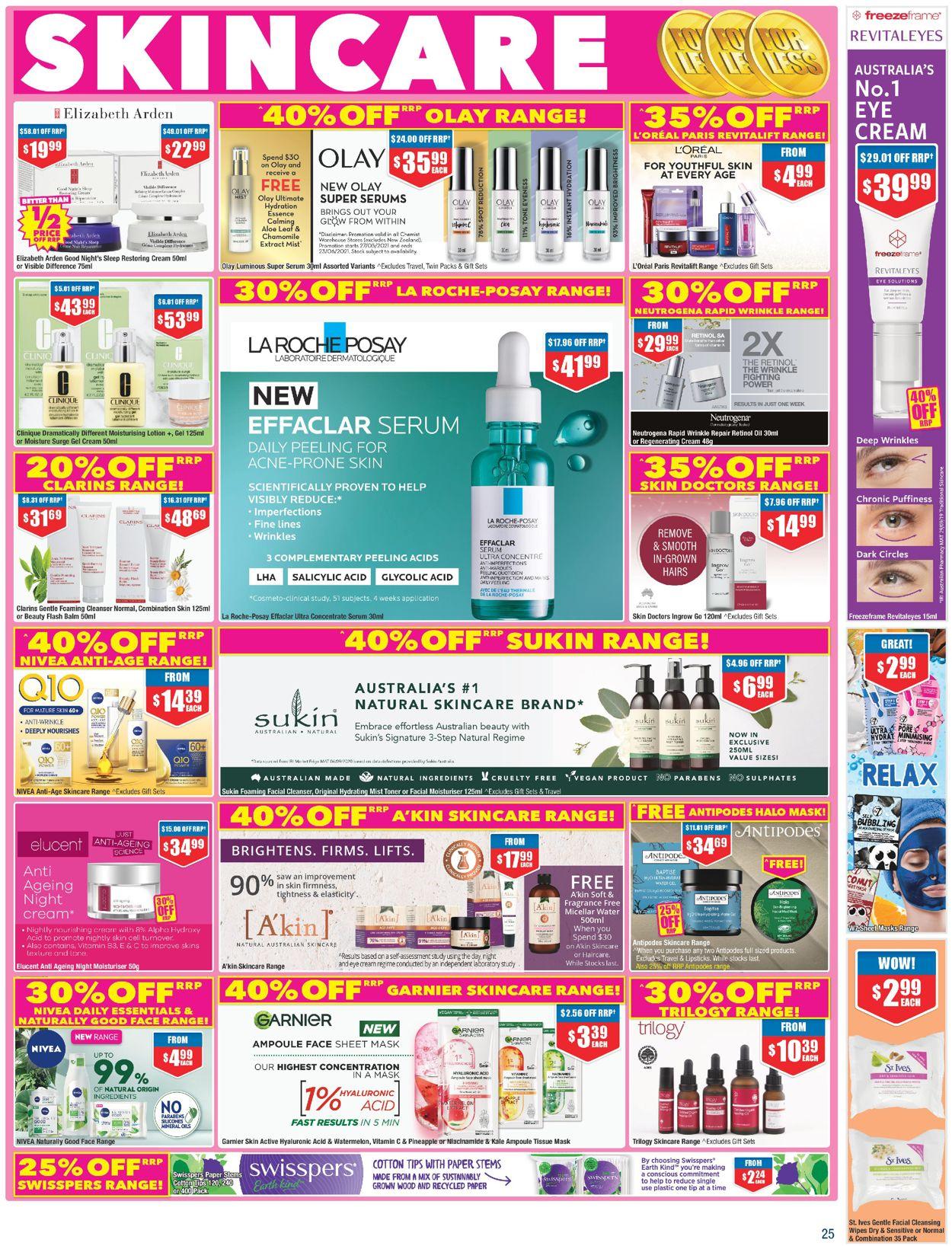Chemist Warehouse Catalogue - 27/05-09/06/2021 (Page 25)