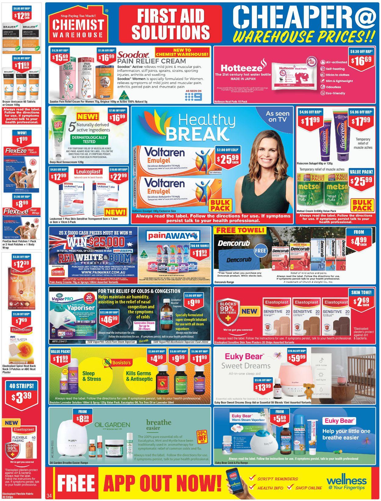Chemist Warehouse Catalogue - 27/05-09/06/2021 (Page 34)