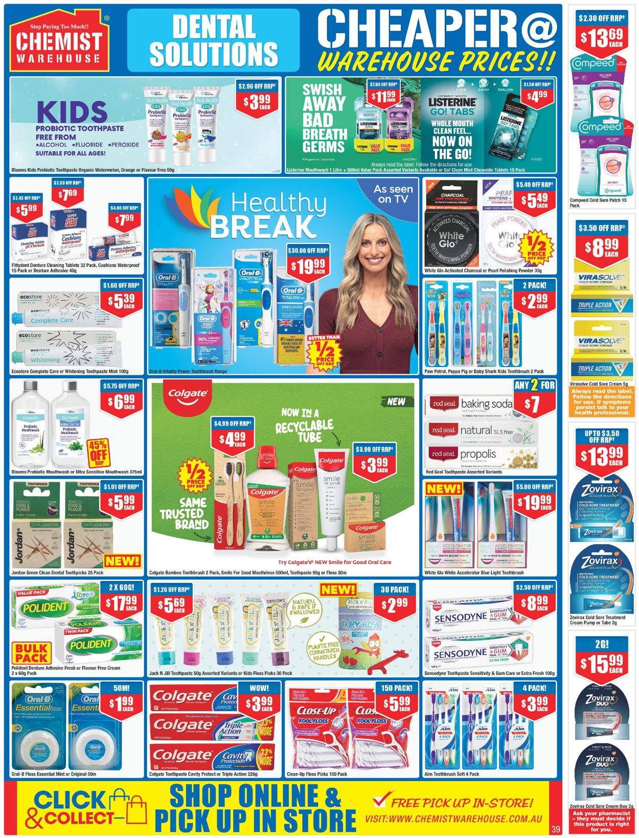 Chemist Warehouse Catalogue - 27/05-09/06/2021 (Page 39)
