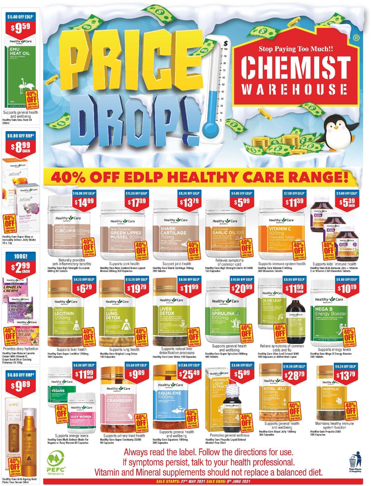 Chemist Warehouse Catalogue - 27/05-09/06/2021 (Page 40)