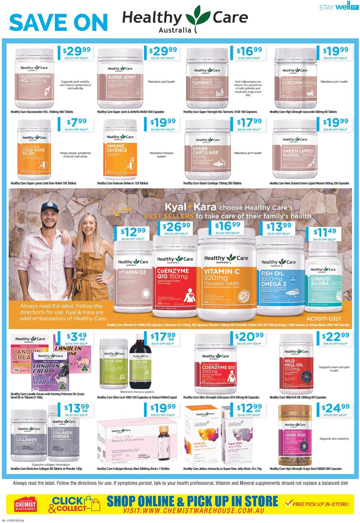 Chemist Warehouse Catalogue - 10/06-23/06/2021 (Page 17)