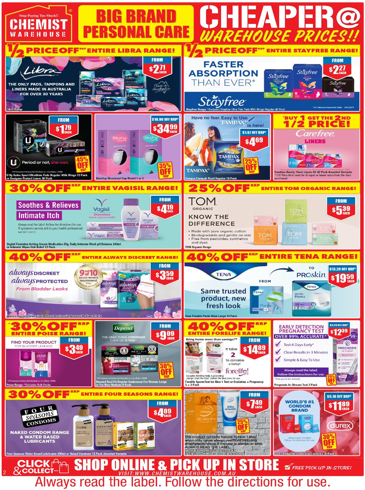 Chemist Warehouse Catalogue - 24/06-07/07/2021 (Page 2)