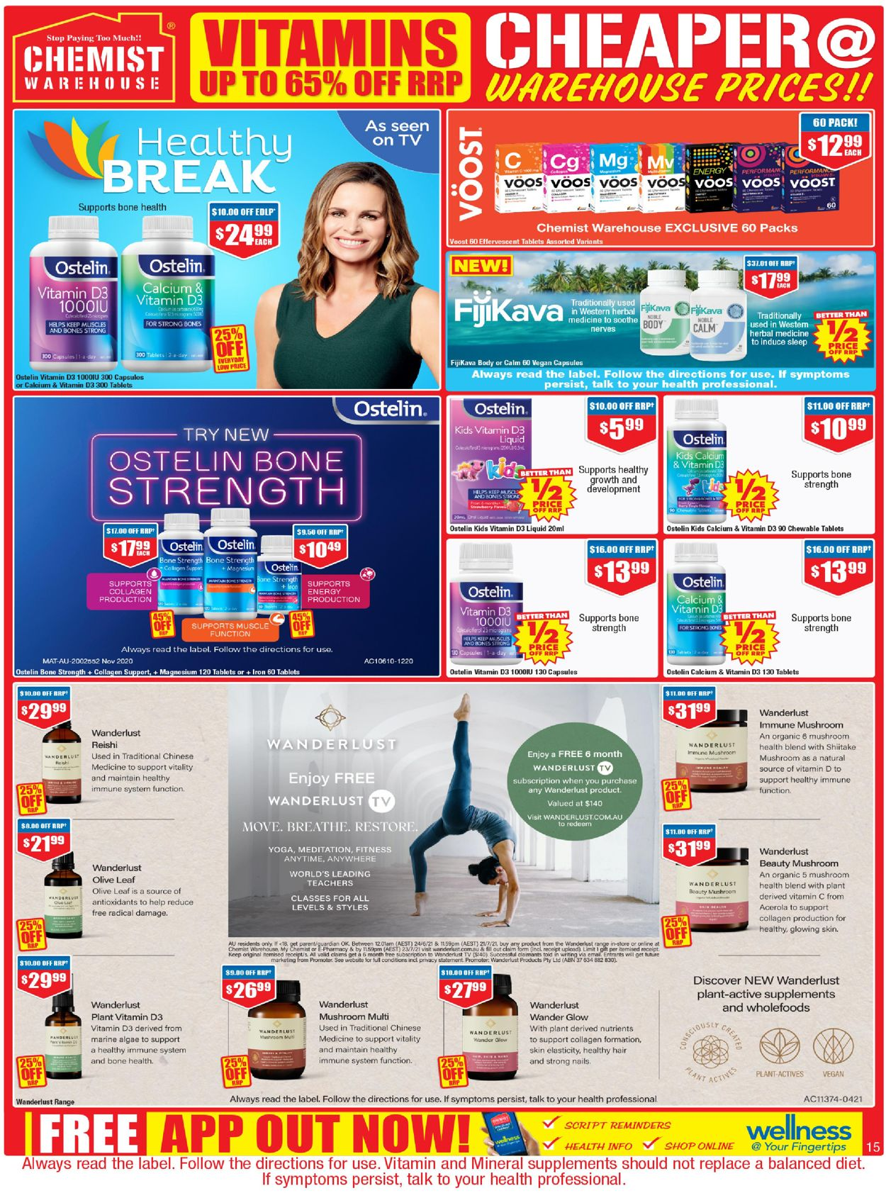Chemist Warehouse Catalogue - 24/06-07/07/2021 (Page 15)