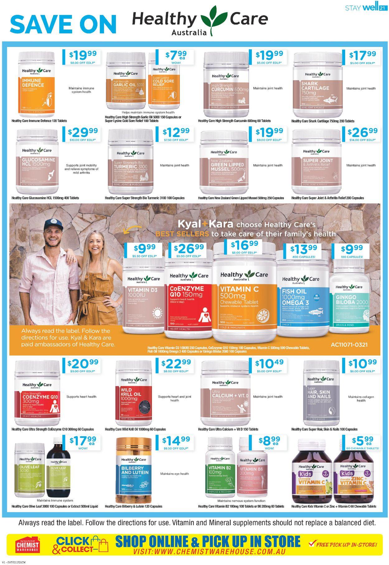 Chemist Warehouse Catalogue - 08/07-21/07/2021 (Page 21)