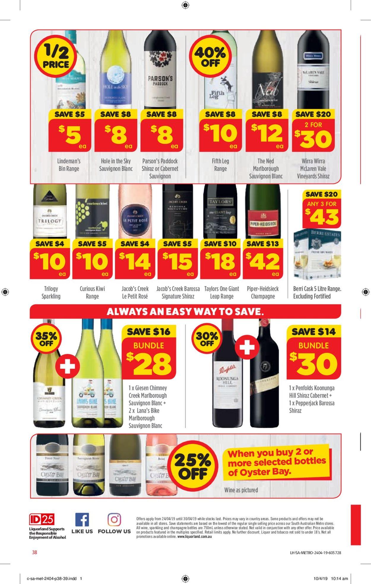 Coles Catalogue - 24/04-30/04/2019 (Page 38)