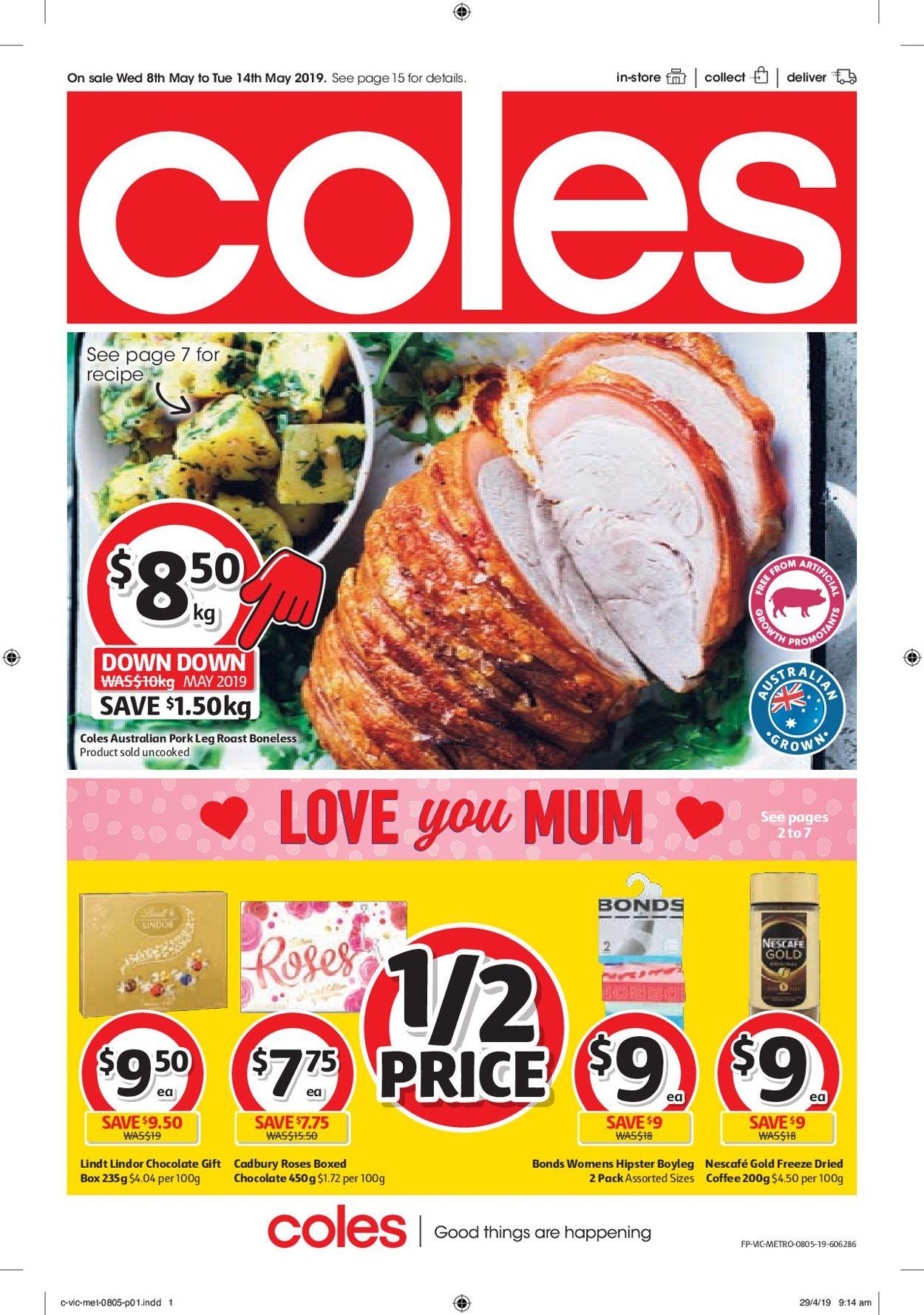 Coles Catalogue - 08/05-14/05/2019