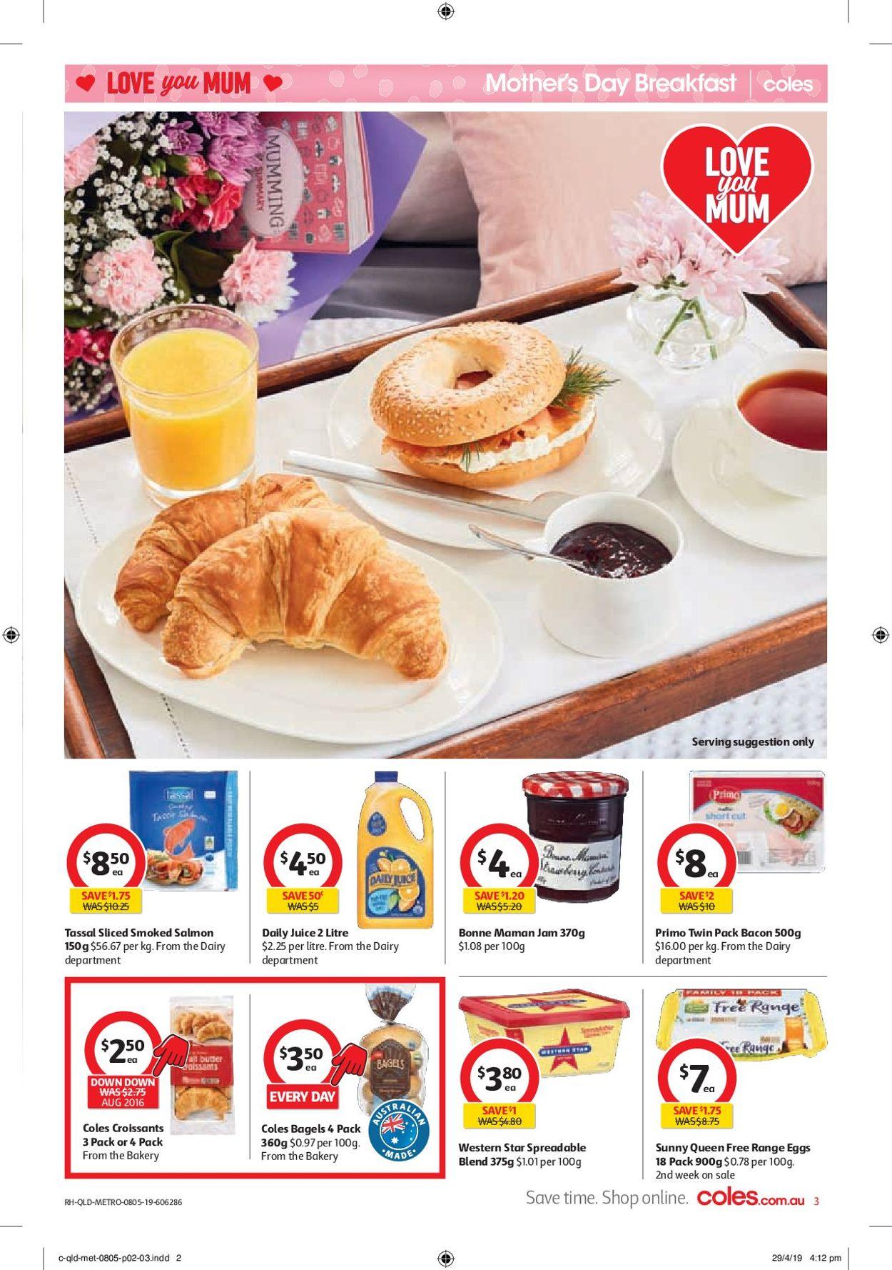 Coles Catalogue - 08/05-14/05/2019 (Page 3)