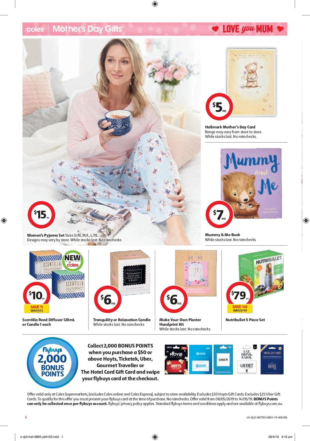 Coles Catalogue - 08/05-14/05/2019 (Page 4)