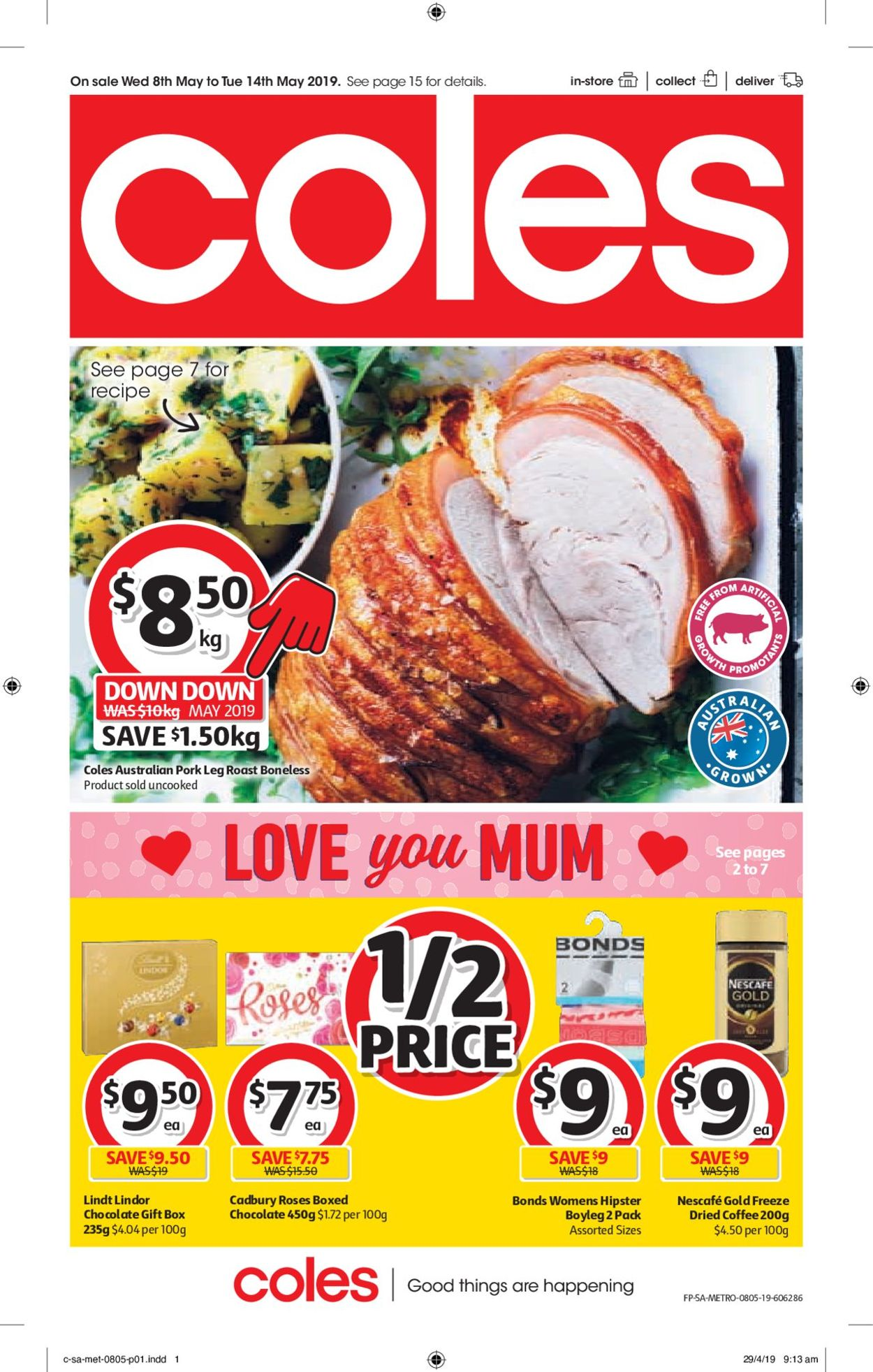 Coles Catalogue - 08/05-14/05/2019