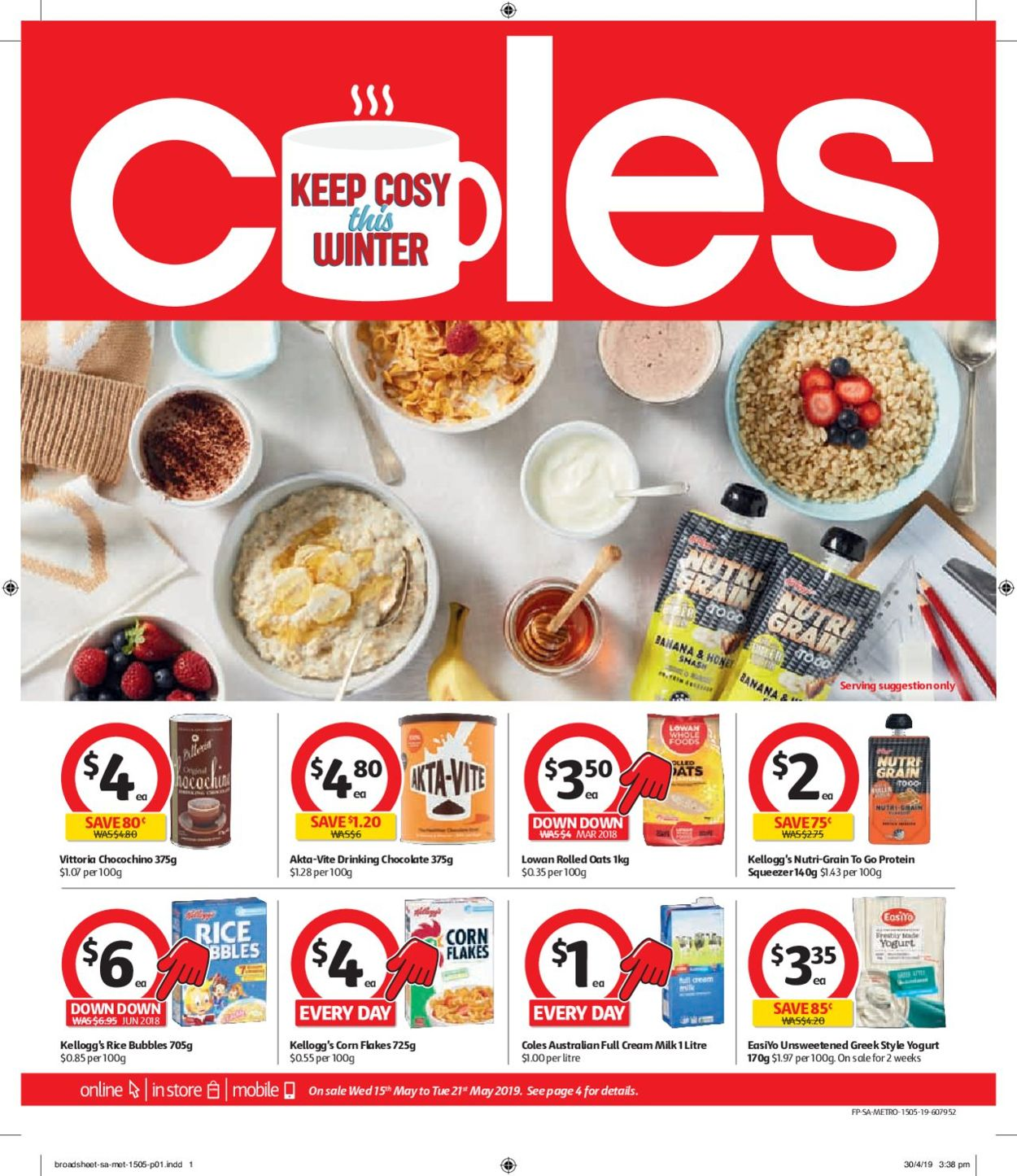 Coles Catalogue - 15/05-21/05/2019