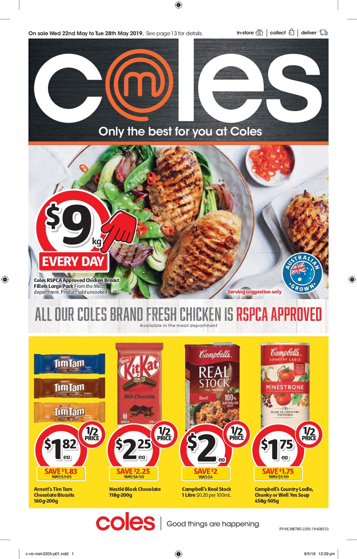Coles Catalogue - 22/05-28/05/2019