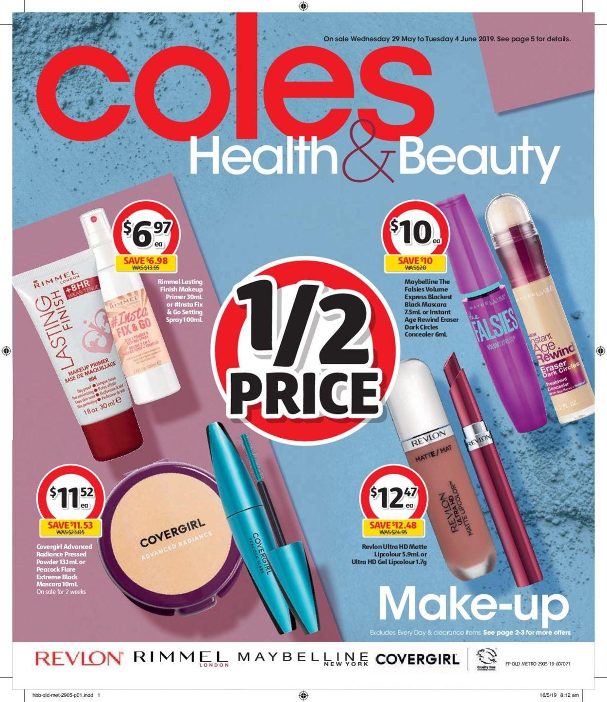 Coles Catalogue - 29/05-04/06/2019
