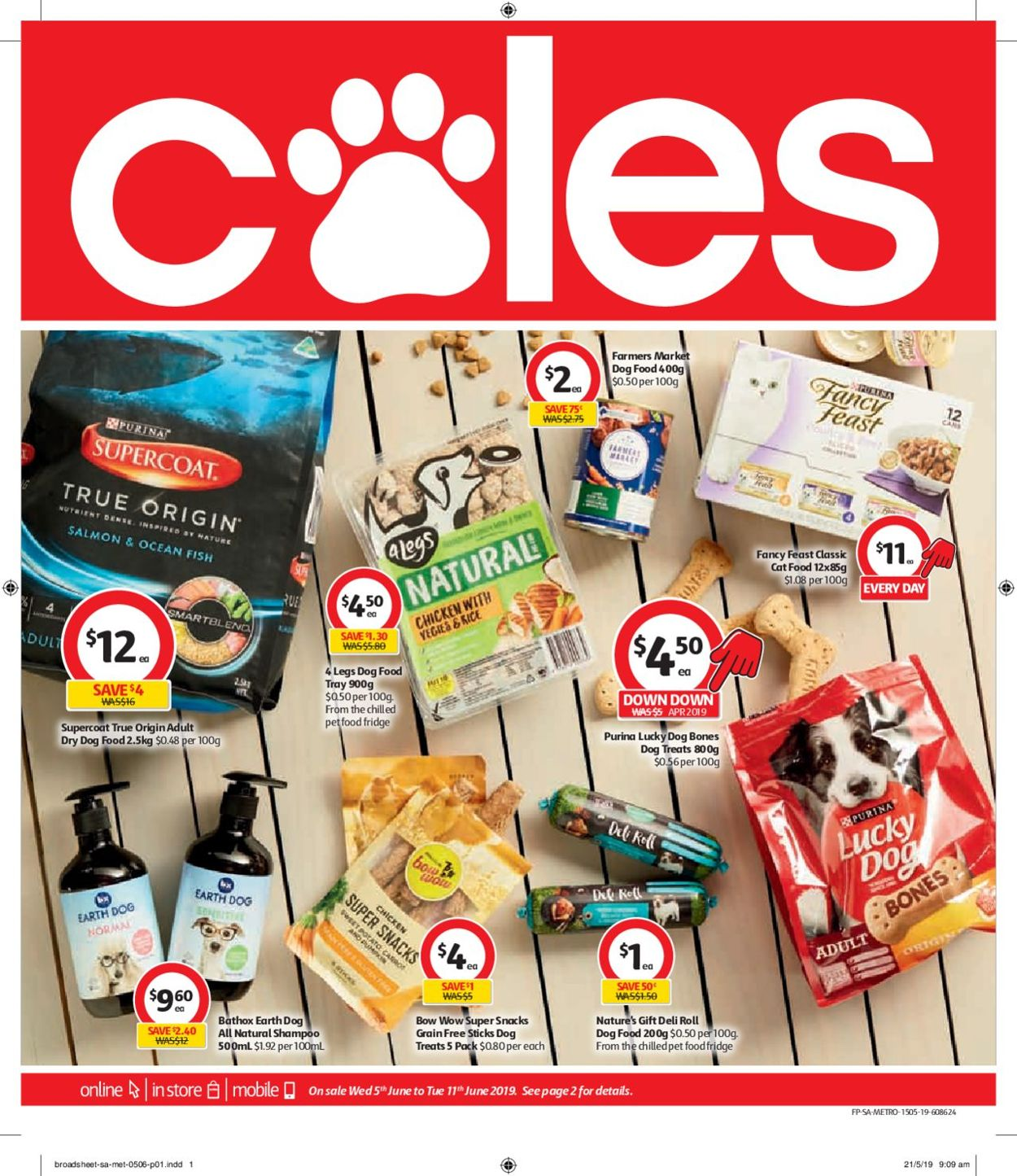 Coles Catalogue - 05/06-11/06/2019
