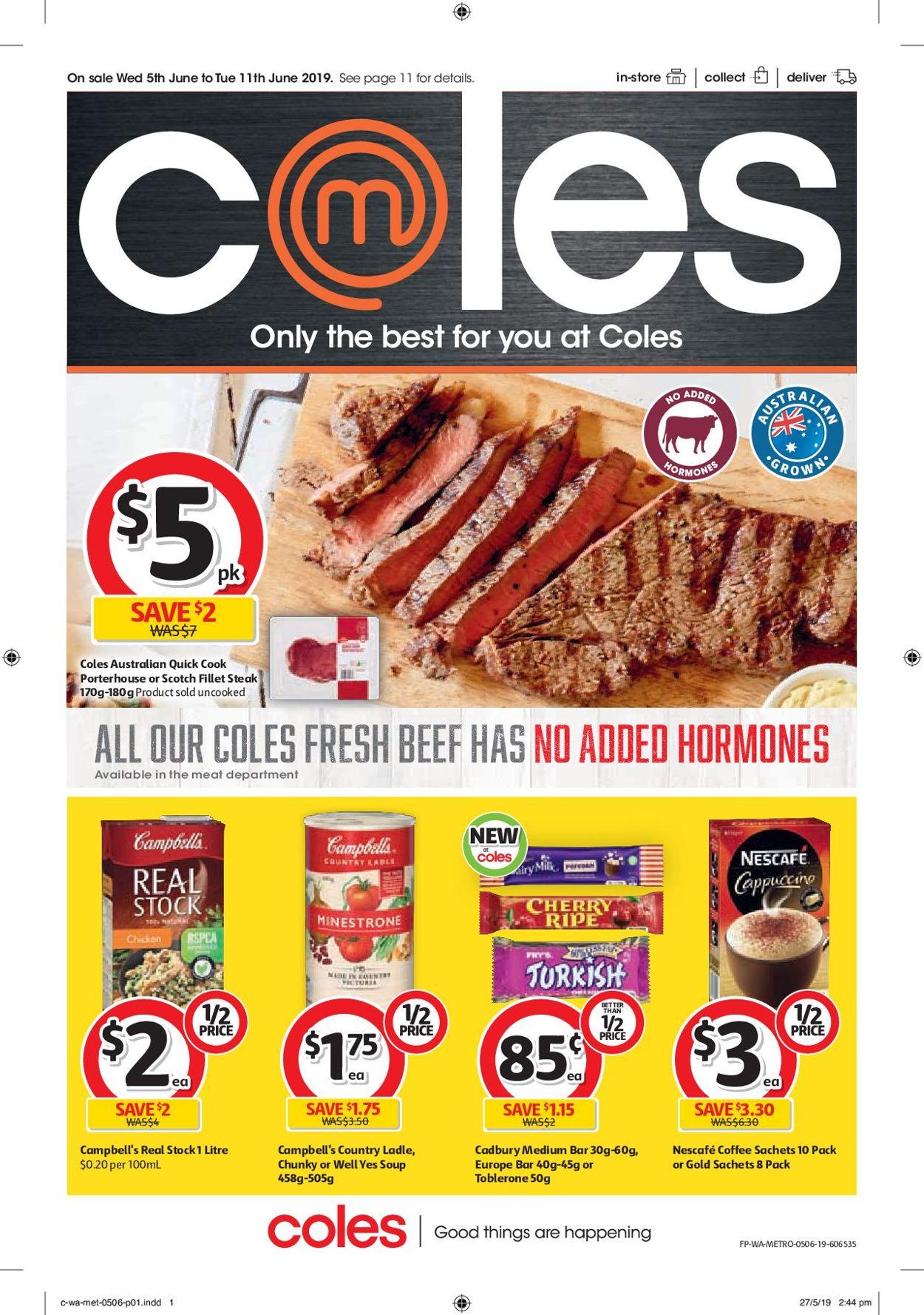 Coles Catalogue - 05/06-11/06/2019