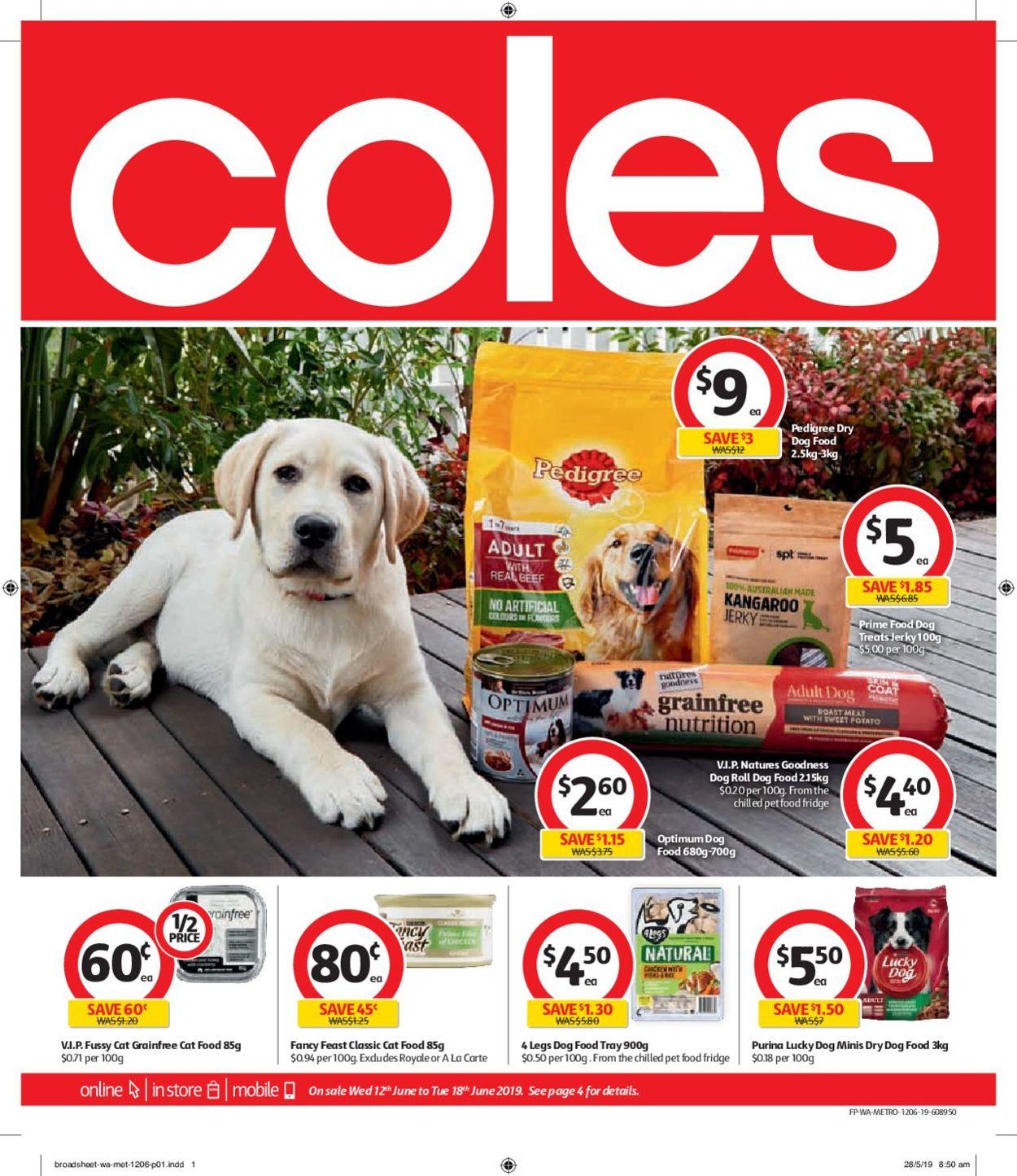 Coles Catalogue - 12/06-18/06/2019
